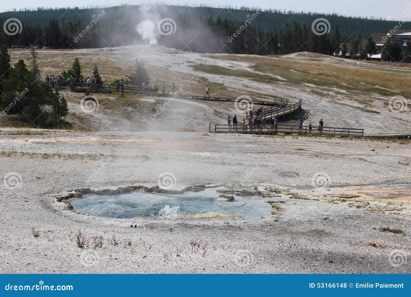 Parque fiel velho - Wyoming