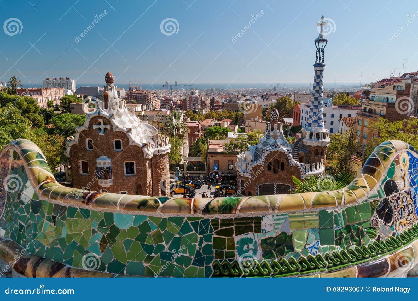 Parque Guell, Barcelona - España
