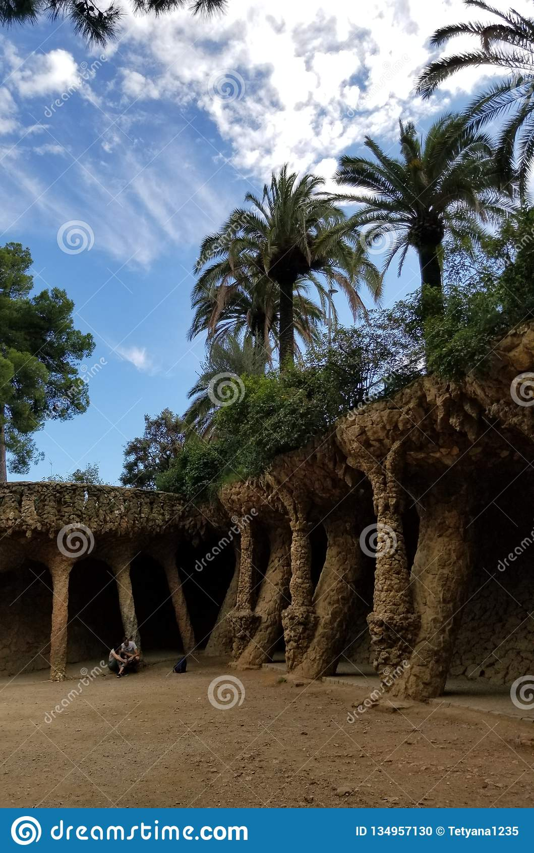 Parque Guell Barcelona - vistas impressionantes!
