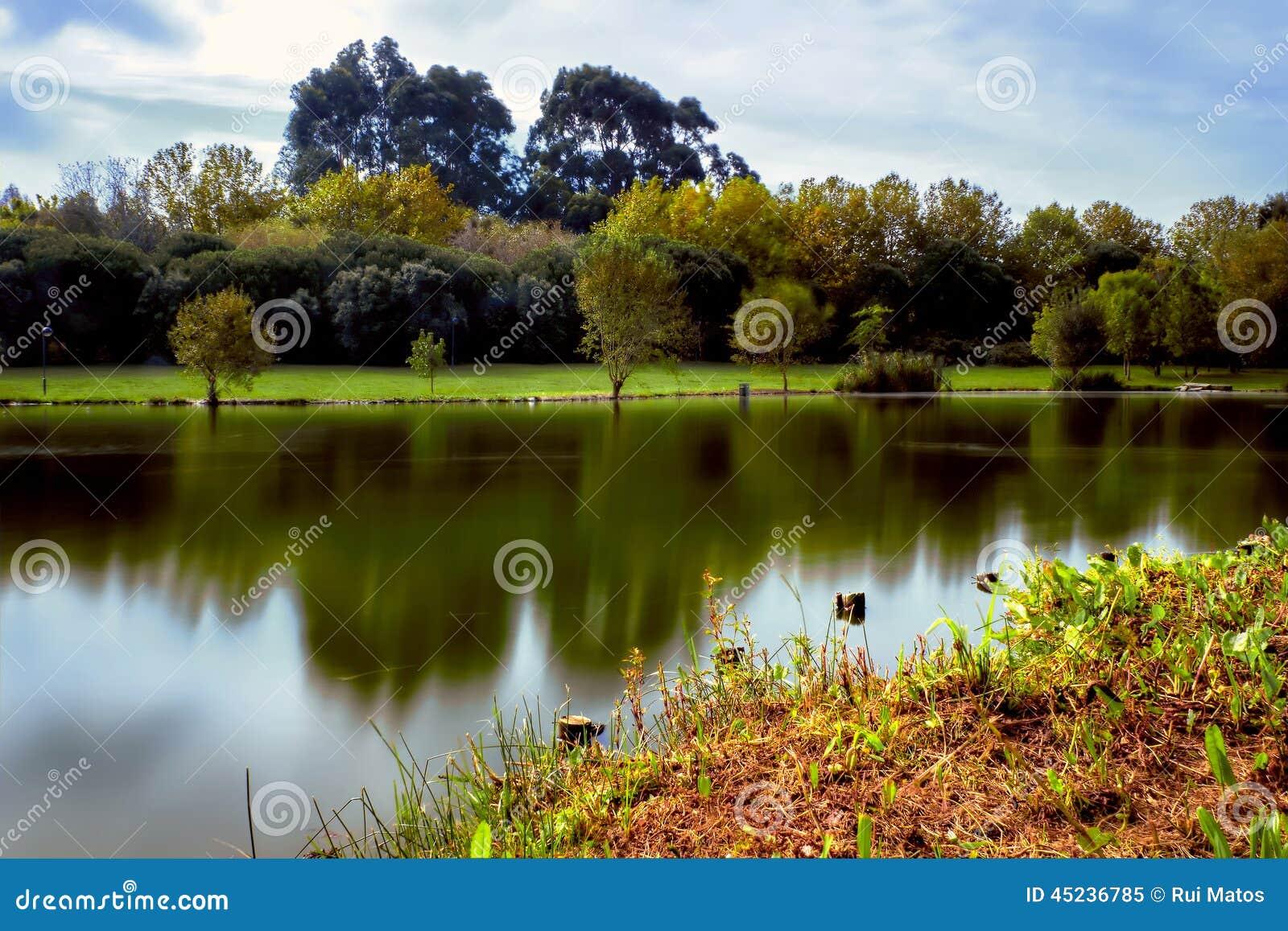 Parque HDR do lago