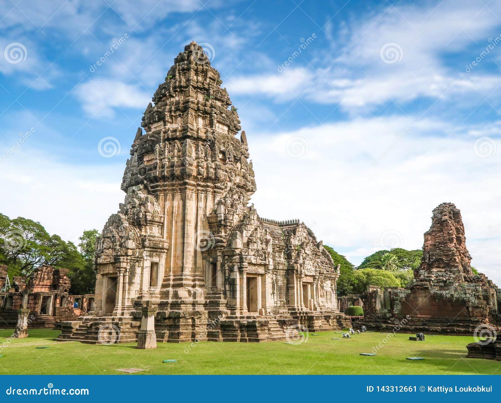Parque histórico de Phimai, Prasat Hin Pimai en Nakhon Ratchasima, Tailandia
