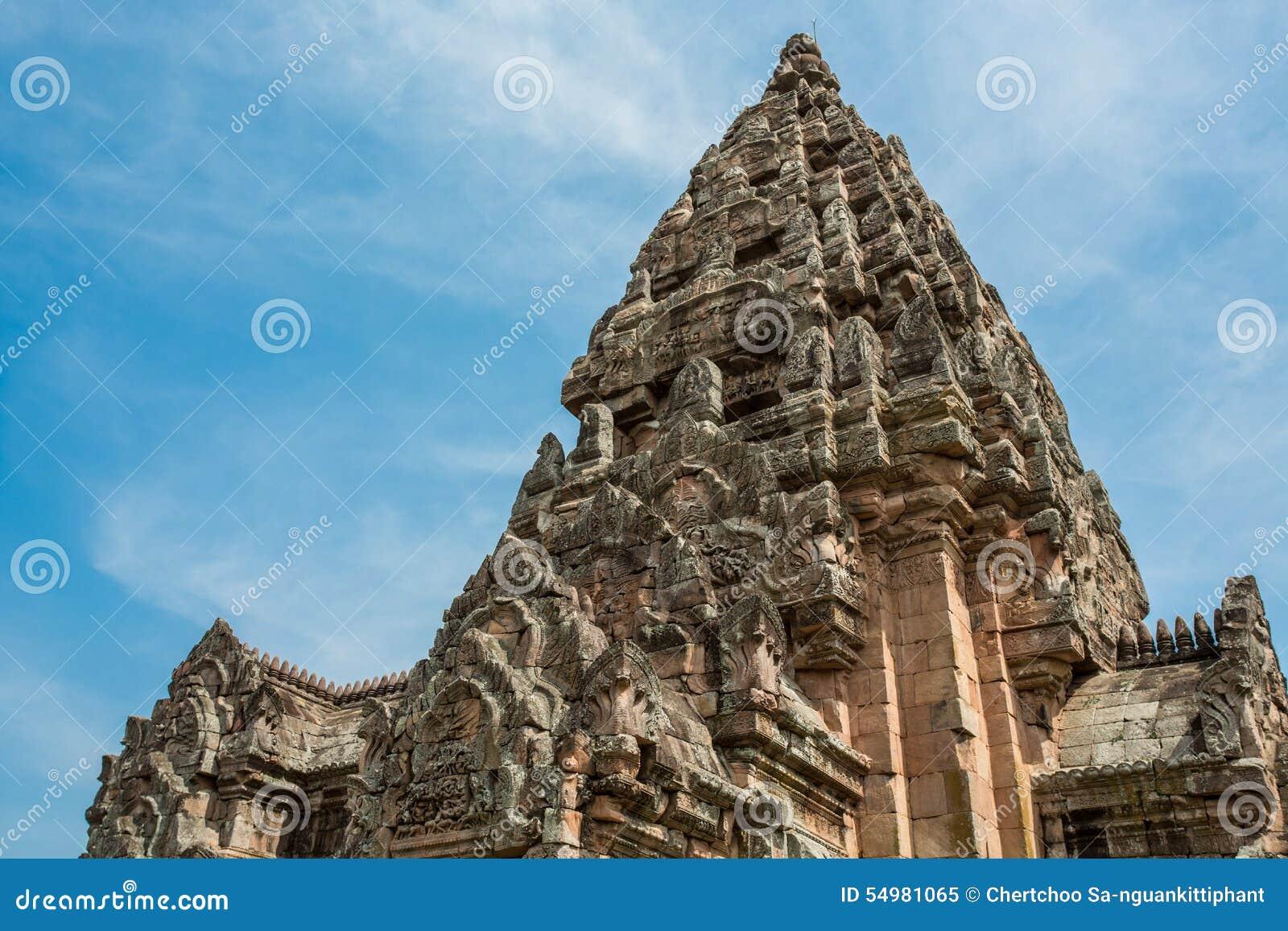 Parque histórico sonado Phanom de Prasat