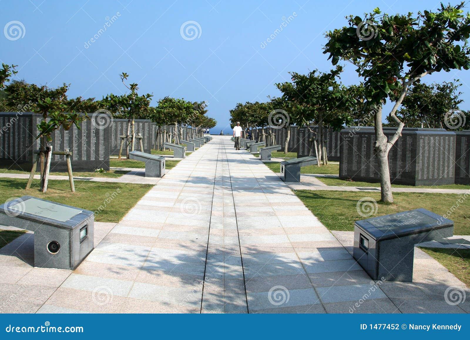 Parque memorável da paz de Okinawa #