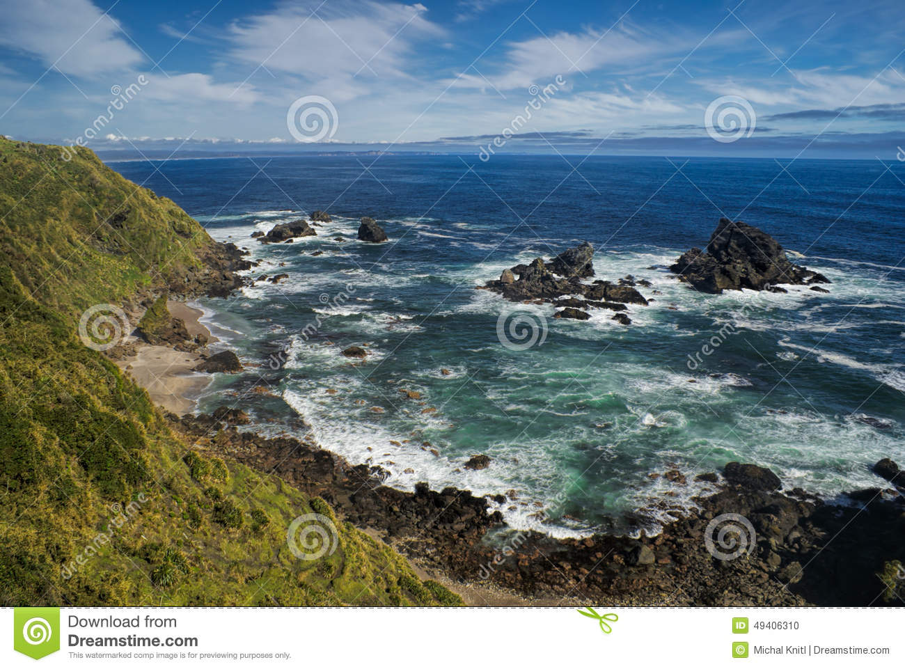 Download Parque Nacional Chiloe stockfoto. Bild von amerika, ozean - 49406310