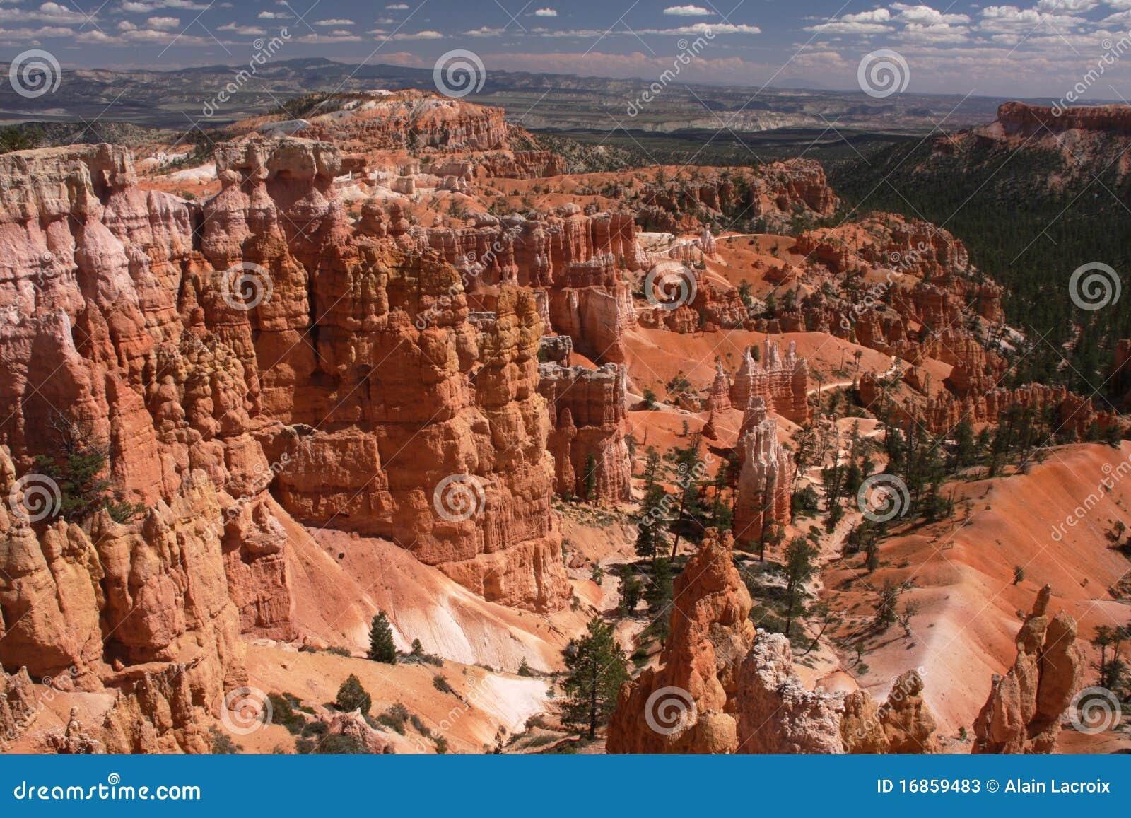 Parque nacional da garganta de Bryce