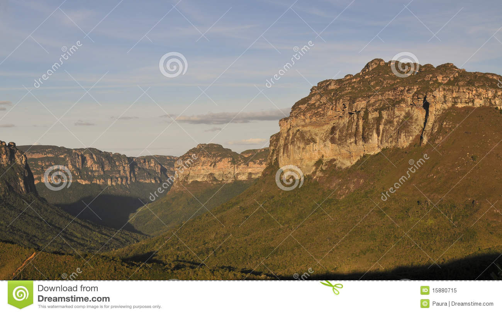 Parque nacional de Chapada Diamantina - Brasil