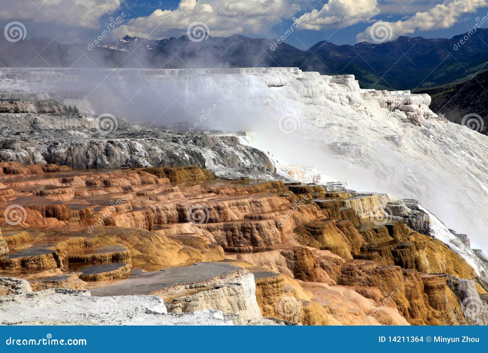 Parque nacional de Mammoth Hot Springs, Yellowstone