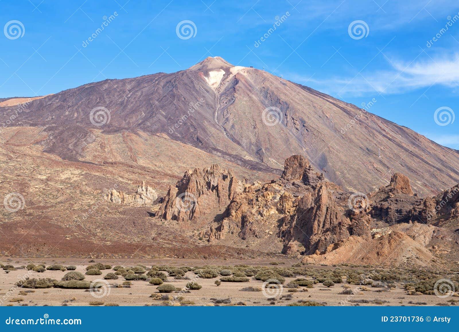 Parque nacional de Teide. Tenerife. Ilhas Canárias