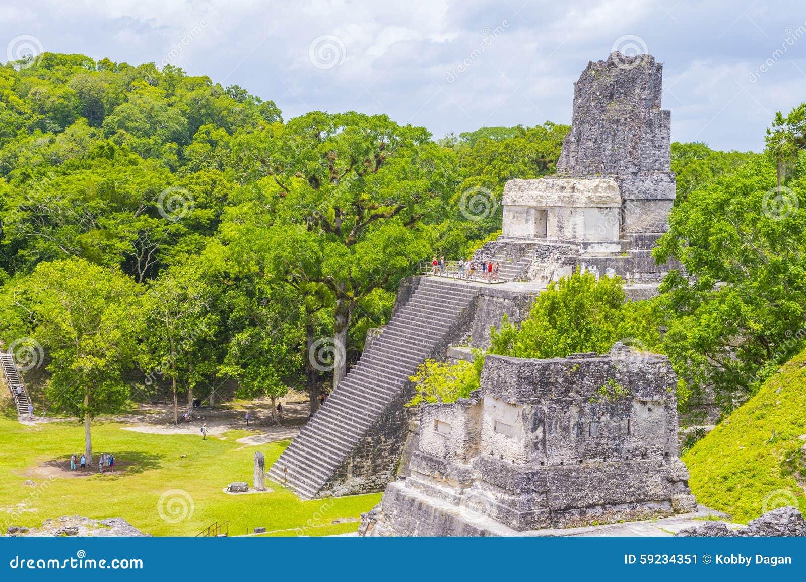 Download Parque nacional de Tikal foto editorial. Imagen de guatemala - 59234351