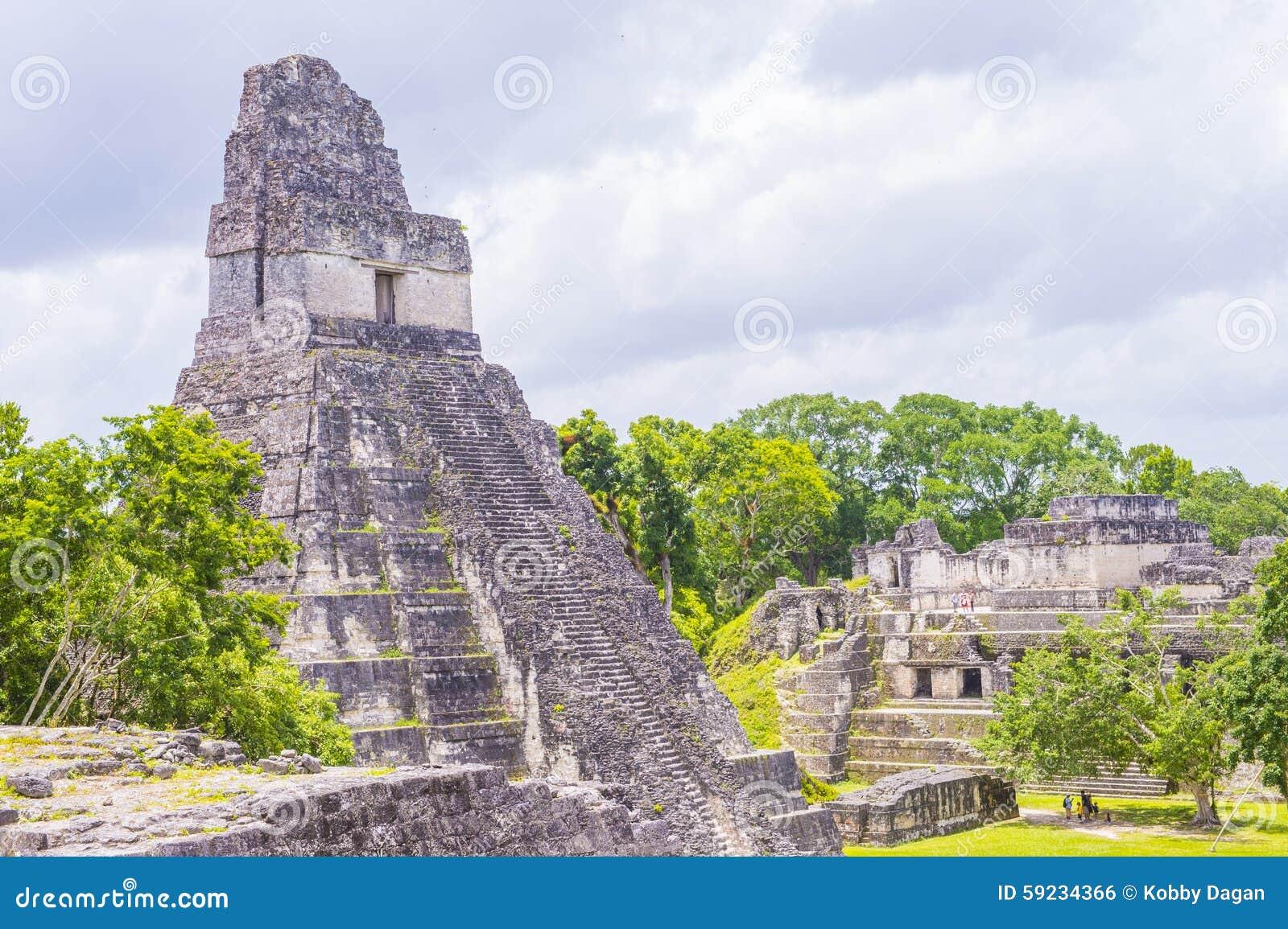 Download Parque nacional de Tikal foto editorial. Imagen de ruina - 59234366