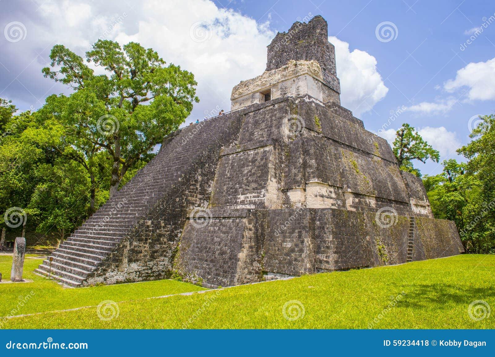 Download Parque nacional de Tikal foto de archivo editorial. Imagen de historia - 59234418