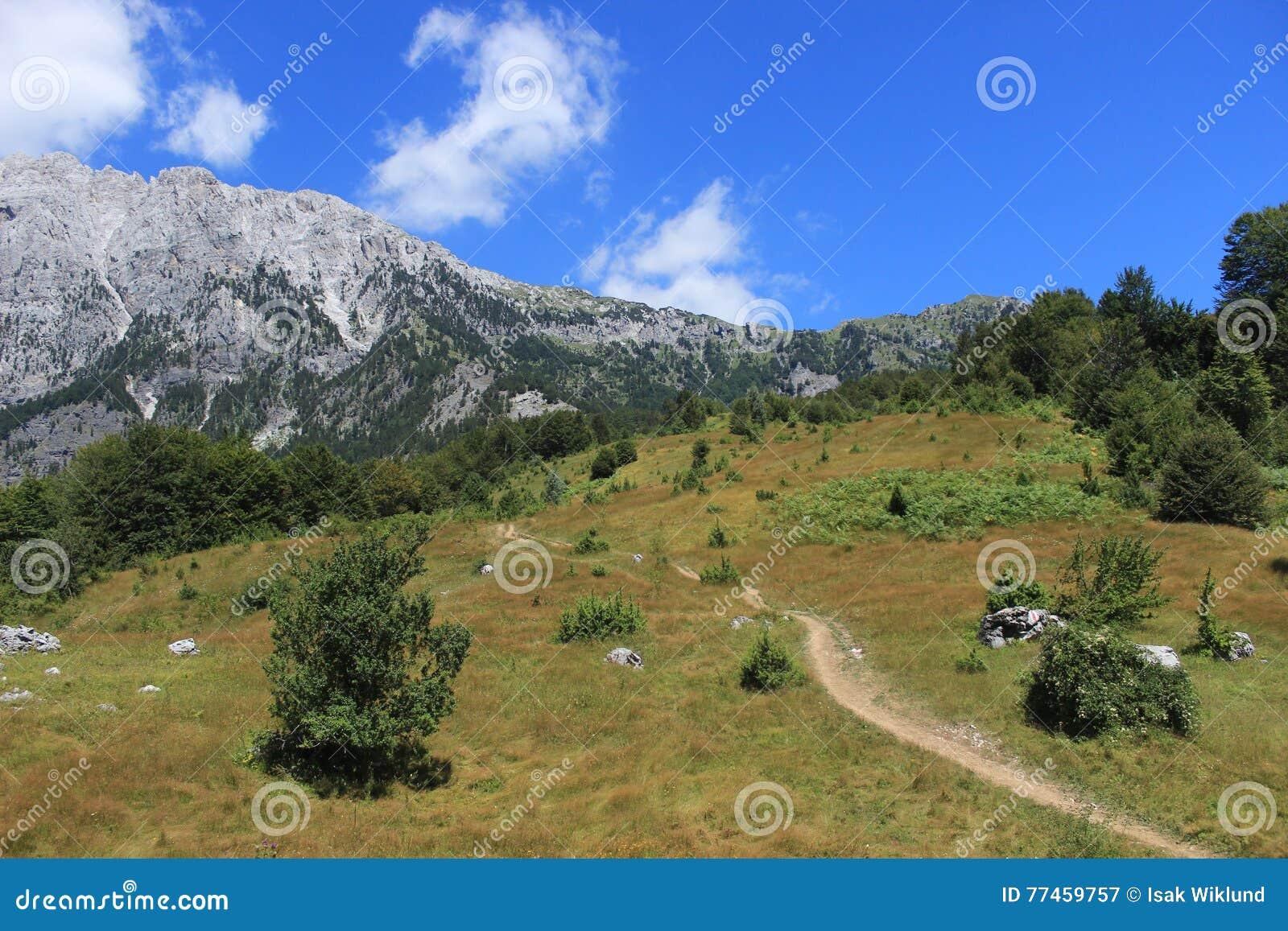 Parque nacional de Valbona en Albania