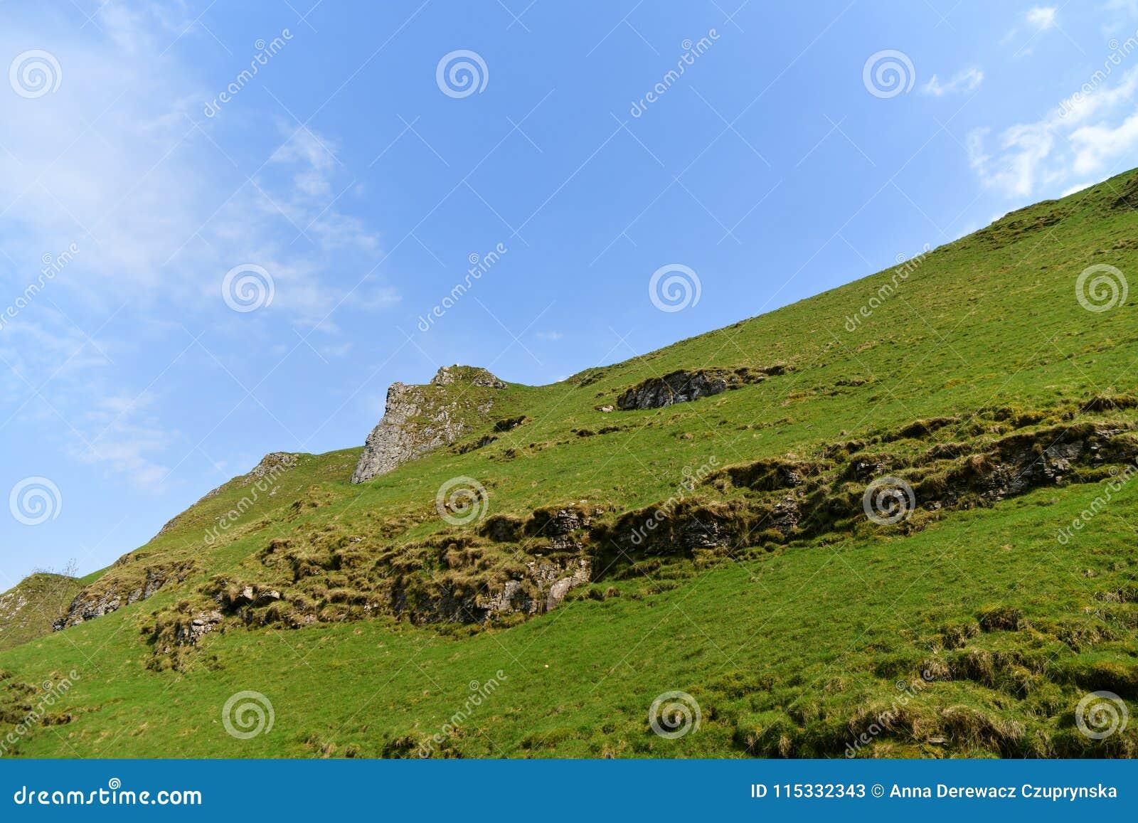 Parque nacional del distrito máximo en Reino Unido