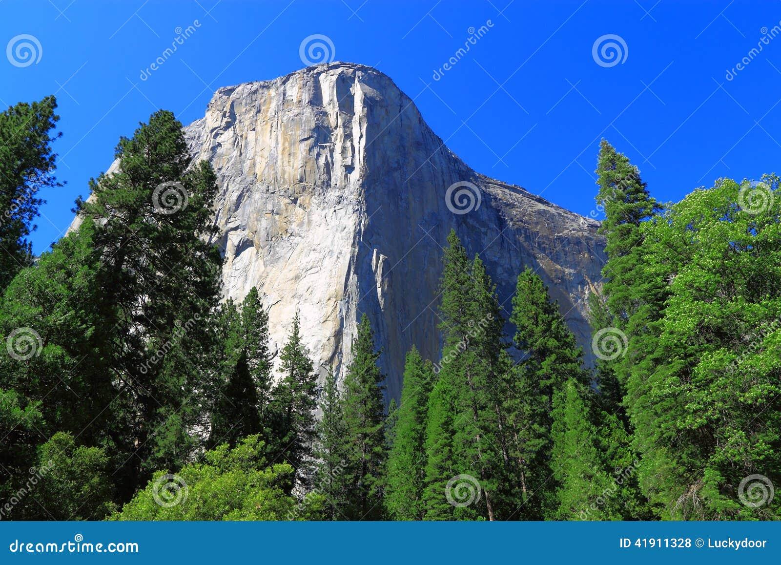 Parque nacional del EL Capitan Yosemite