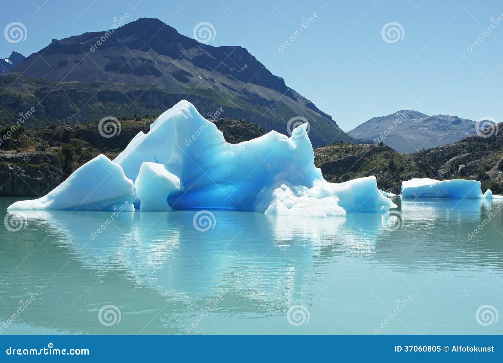 Parque nacional del Los Glaciares, la Argentina