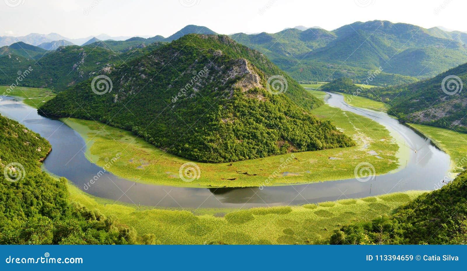 Parque nacional do lago Skadar - Montenegro