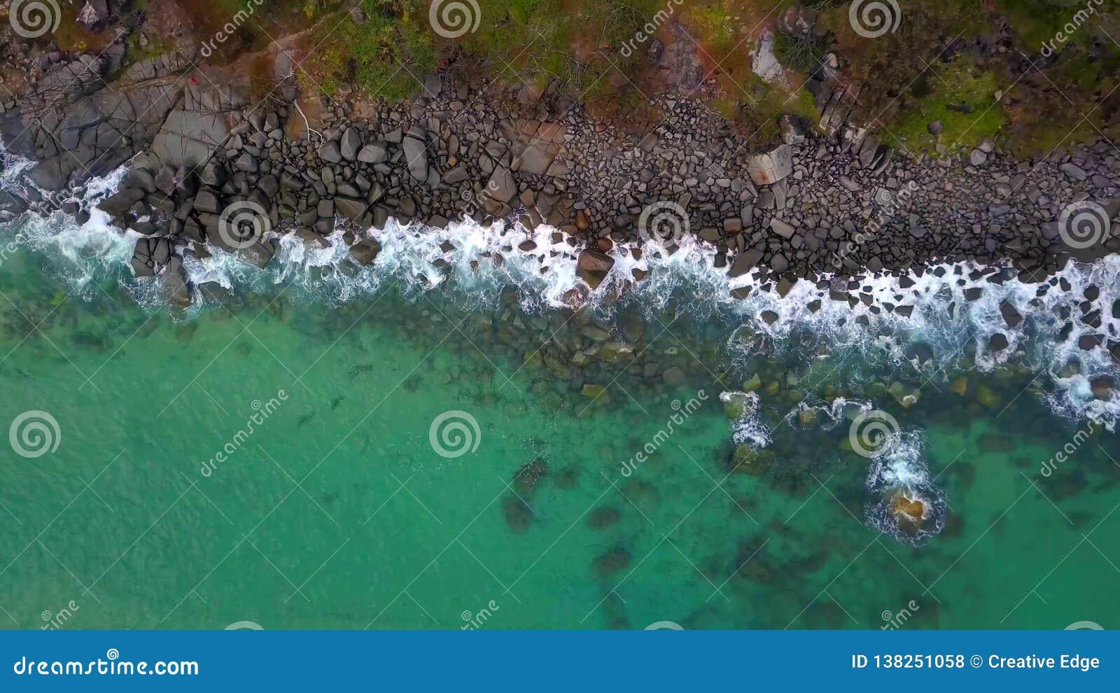 Parque nacional na costa da luz do sol, Queensland de Noosa, Austrália
