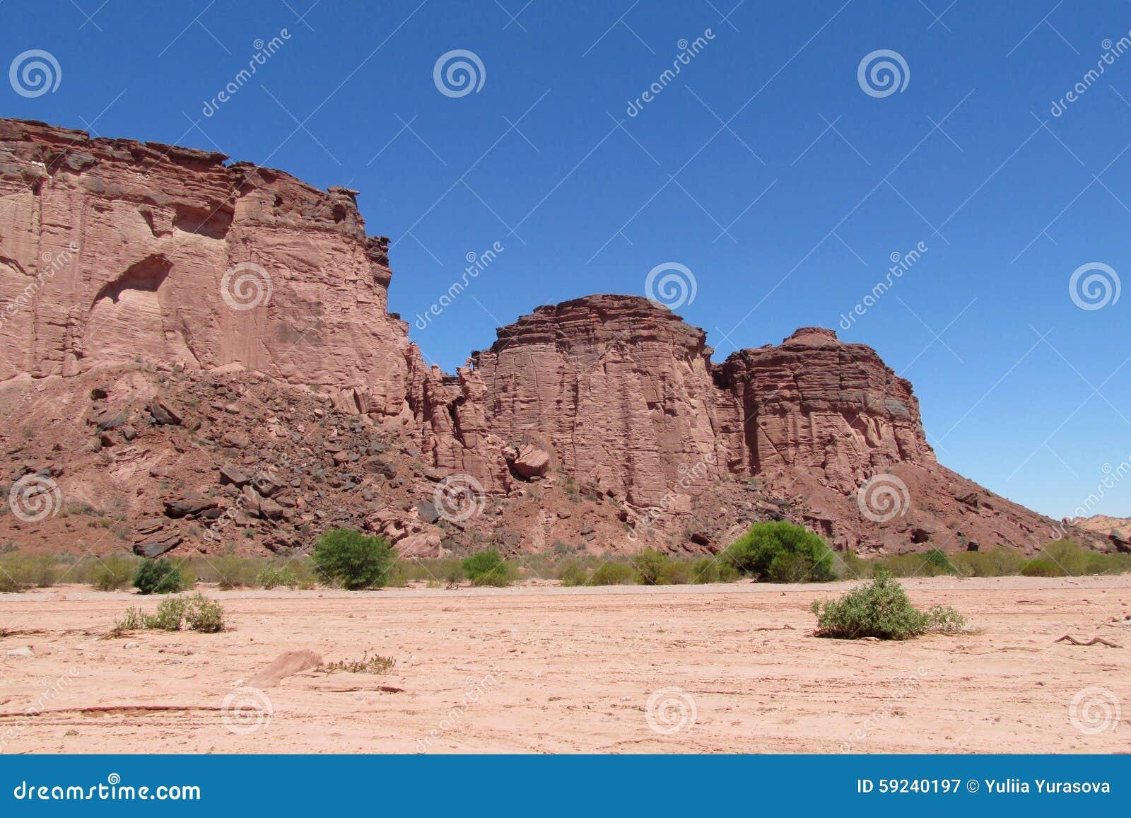 Download Parque Nacional Talampaya Del Barranco Imagen de archivo - Imagen de argentina, desierto: 59240197