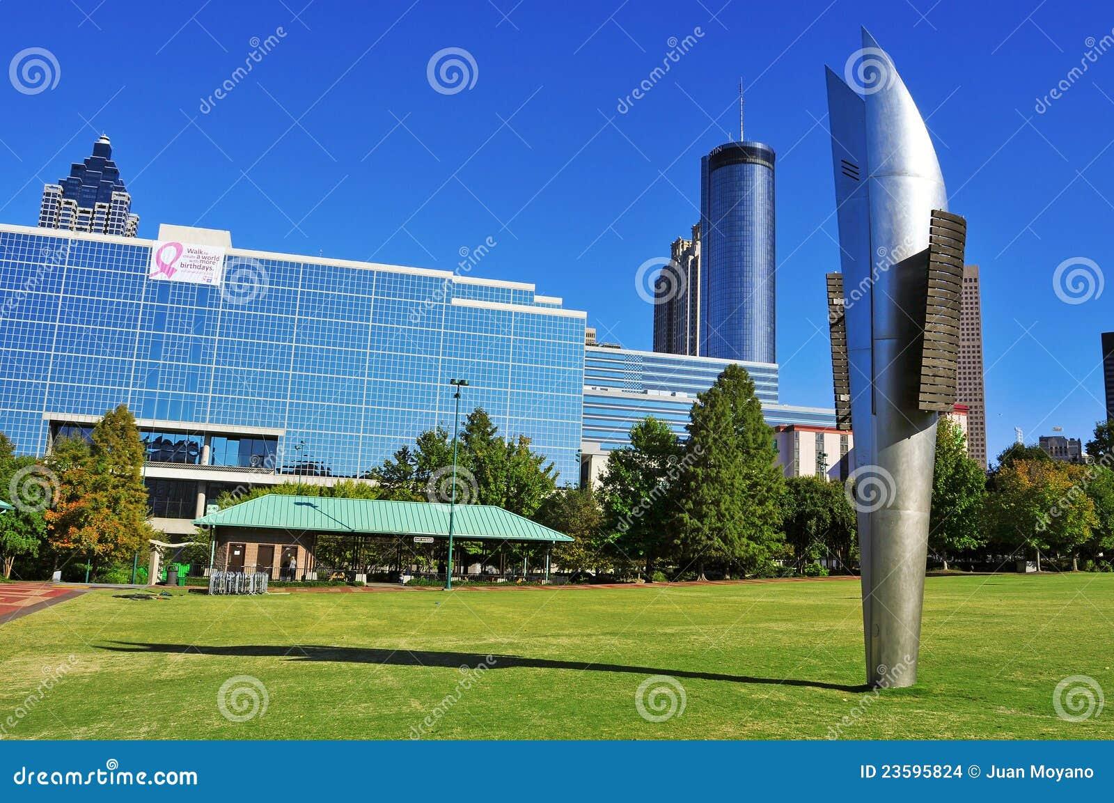 Parque olímpico centenário, Atlanta, Estados Unidos