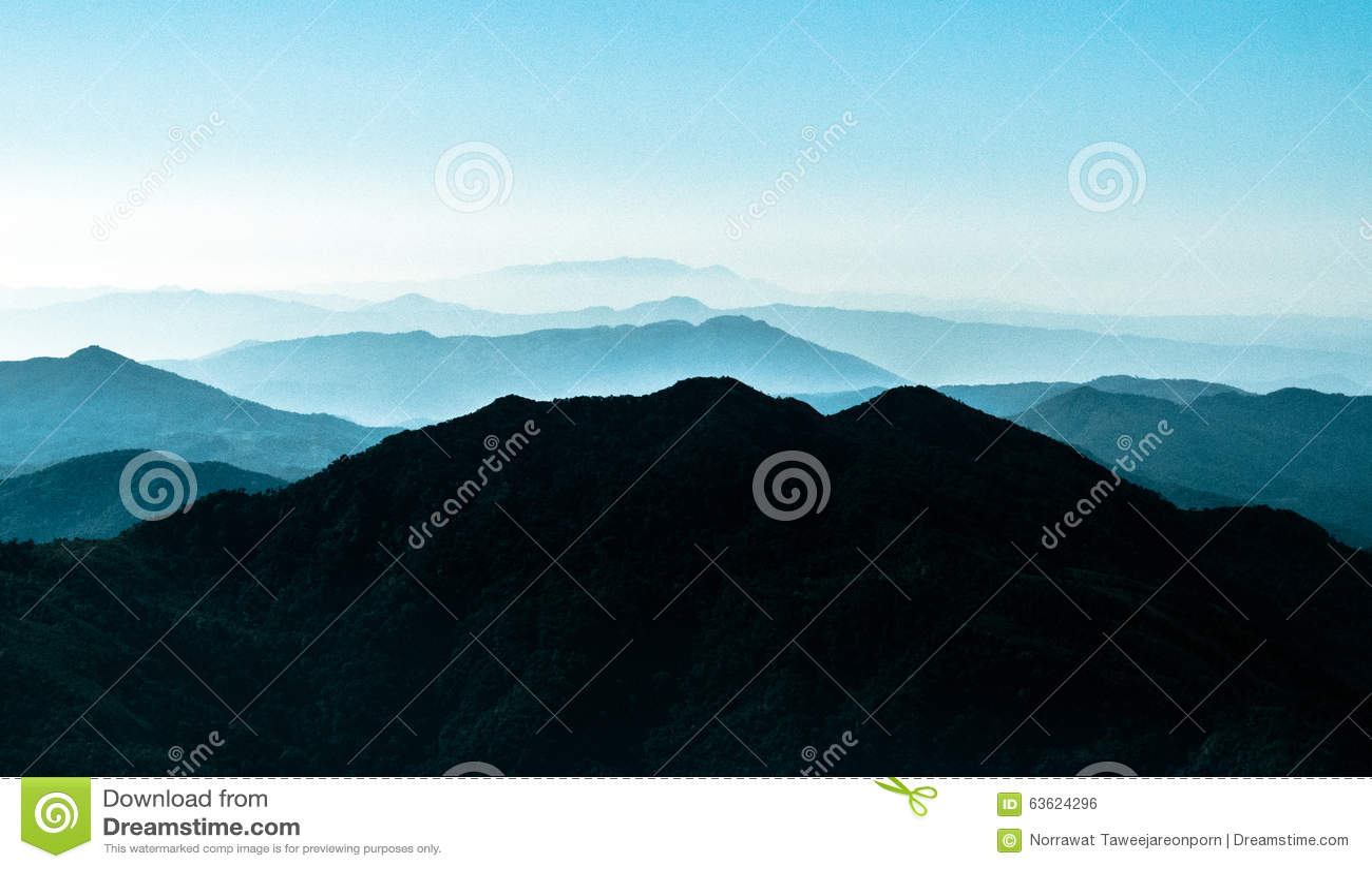 Parque Ridge Appalachian Mountains Layers de Inthanon