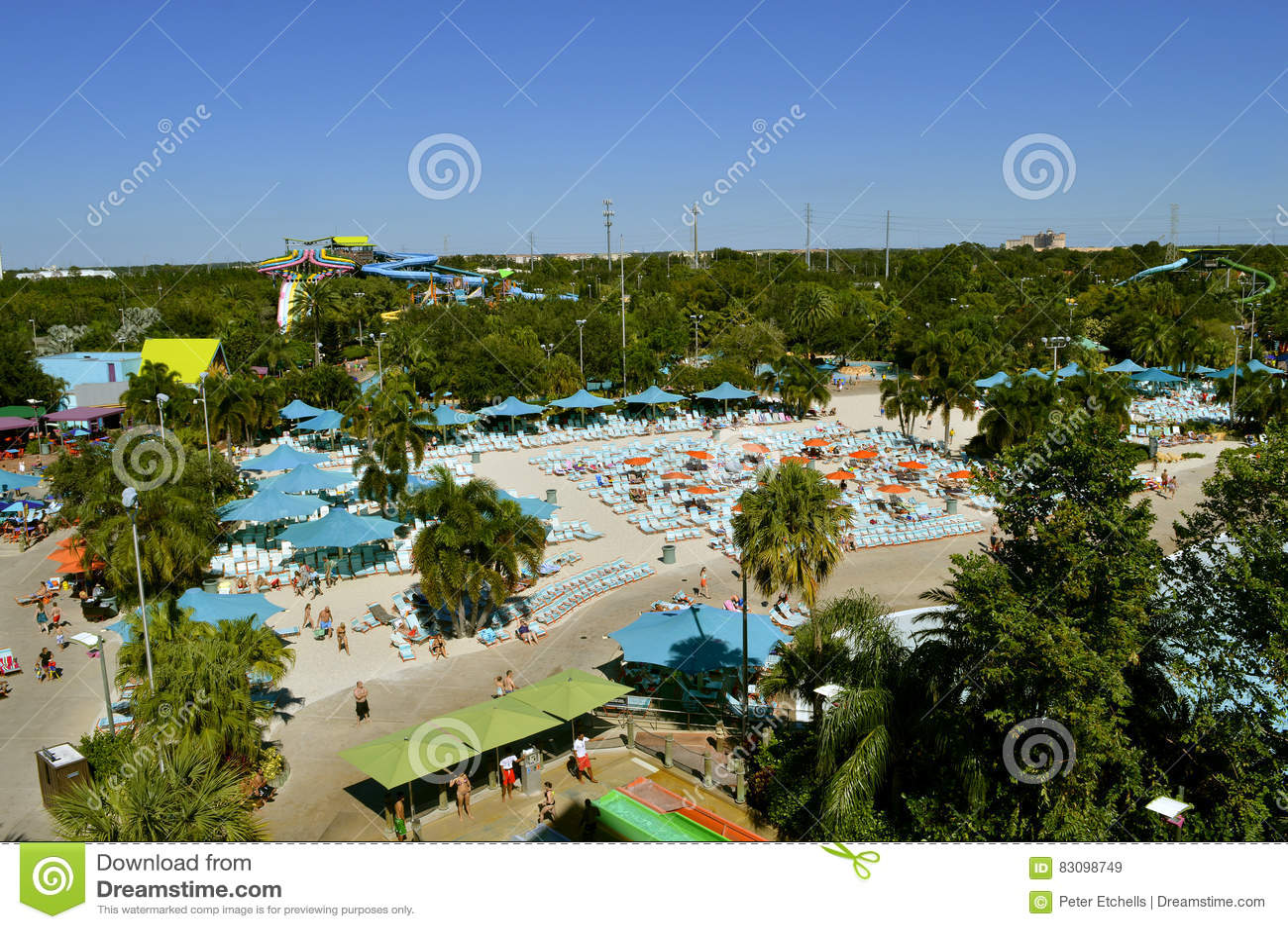 Parque temático de Aquatica en Orlando