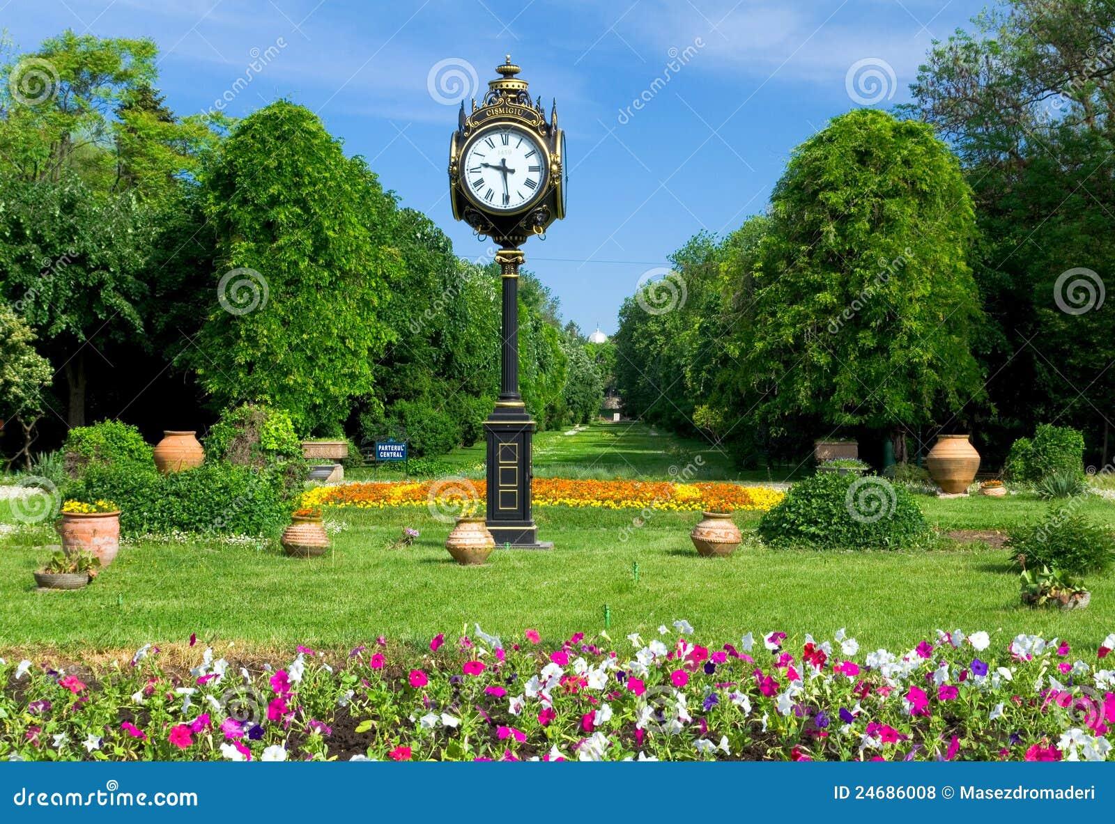 Parques y jardines cismigiu de bucarest foto de archivo for Parques y jardines