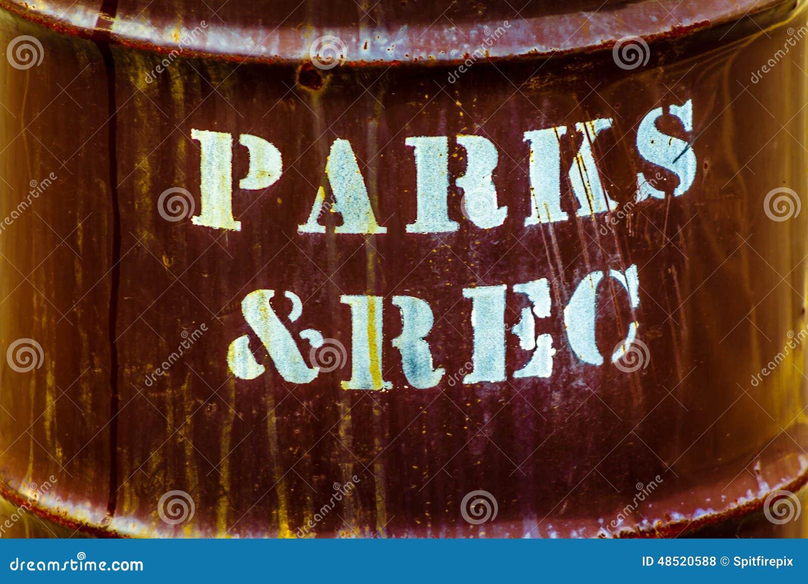 Parques y reconstrucción