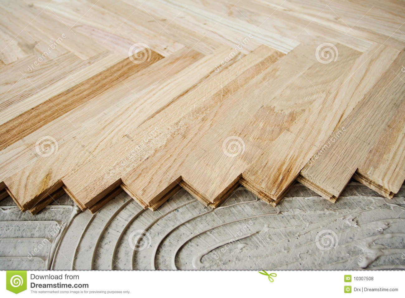 Parquet background for Wood floor pieces