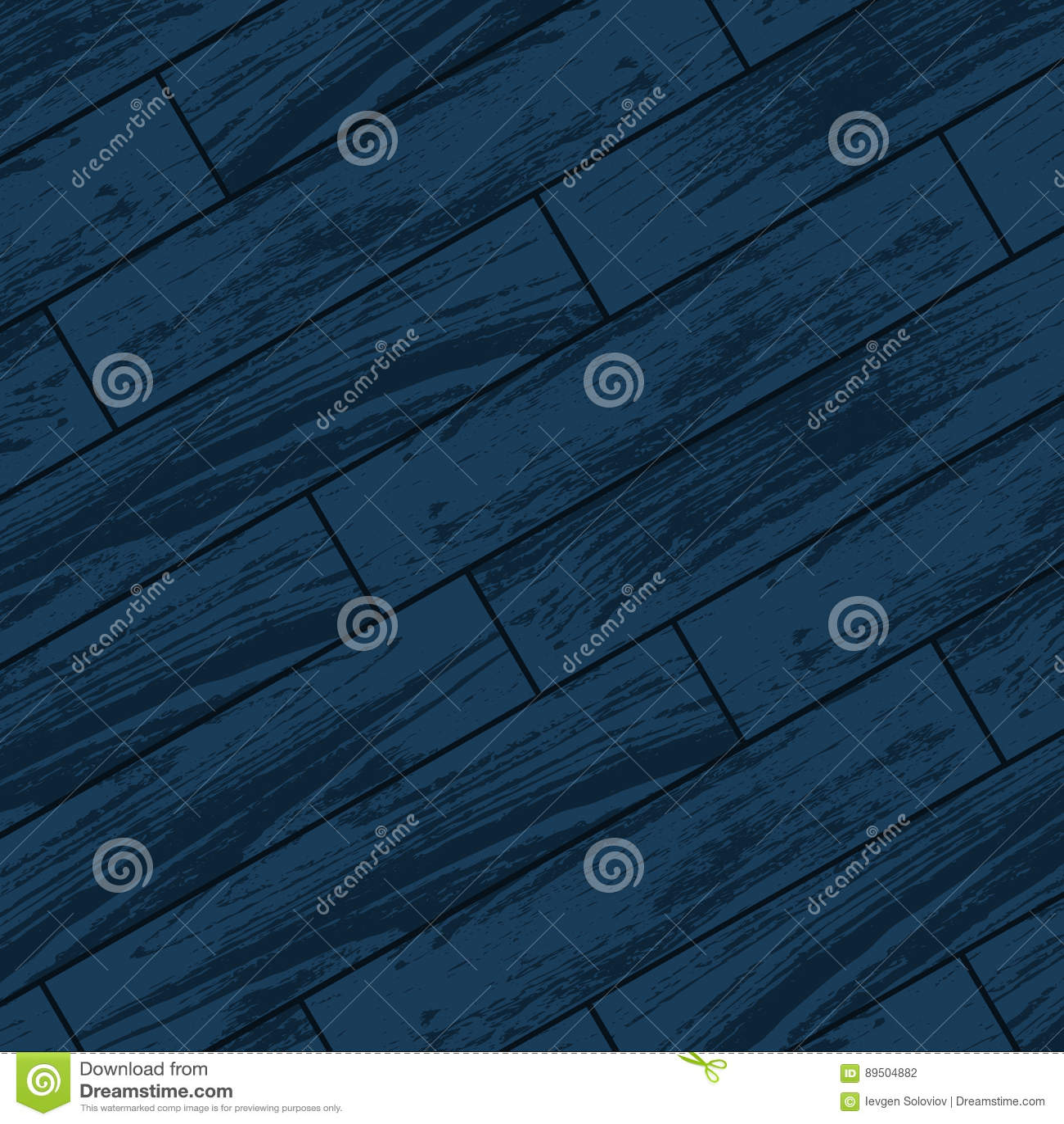 Jeune Parquet en bois bleu-foncé illustration de vecteur. Illustration TT-12