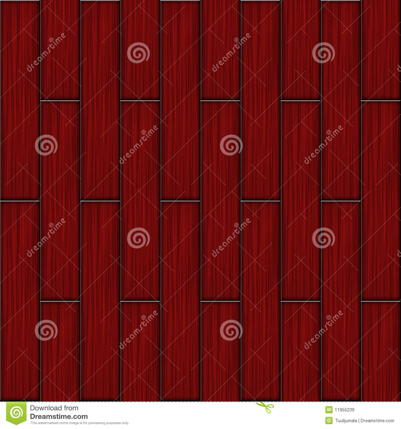 parquet en bois rouge illustration stock image du cerise 11955239. Black Bedroom Furniture Sets. Home Design Ideas