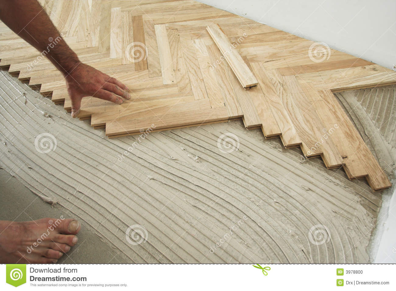 Parquet floor and carpenter stock photo image 3978800 for Wood floor pieces