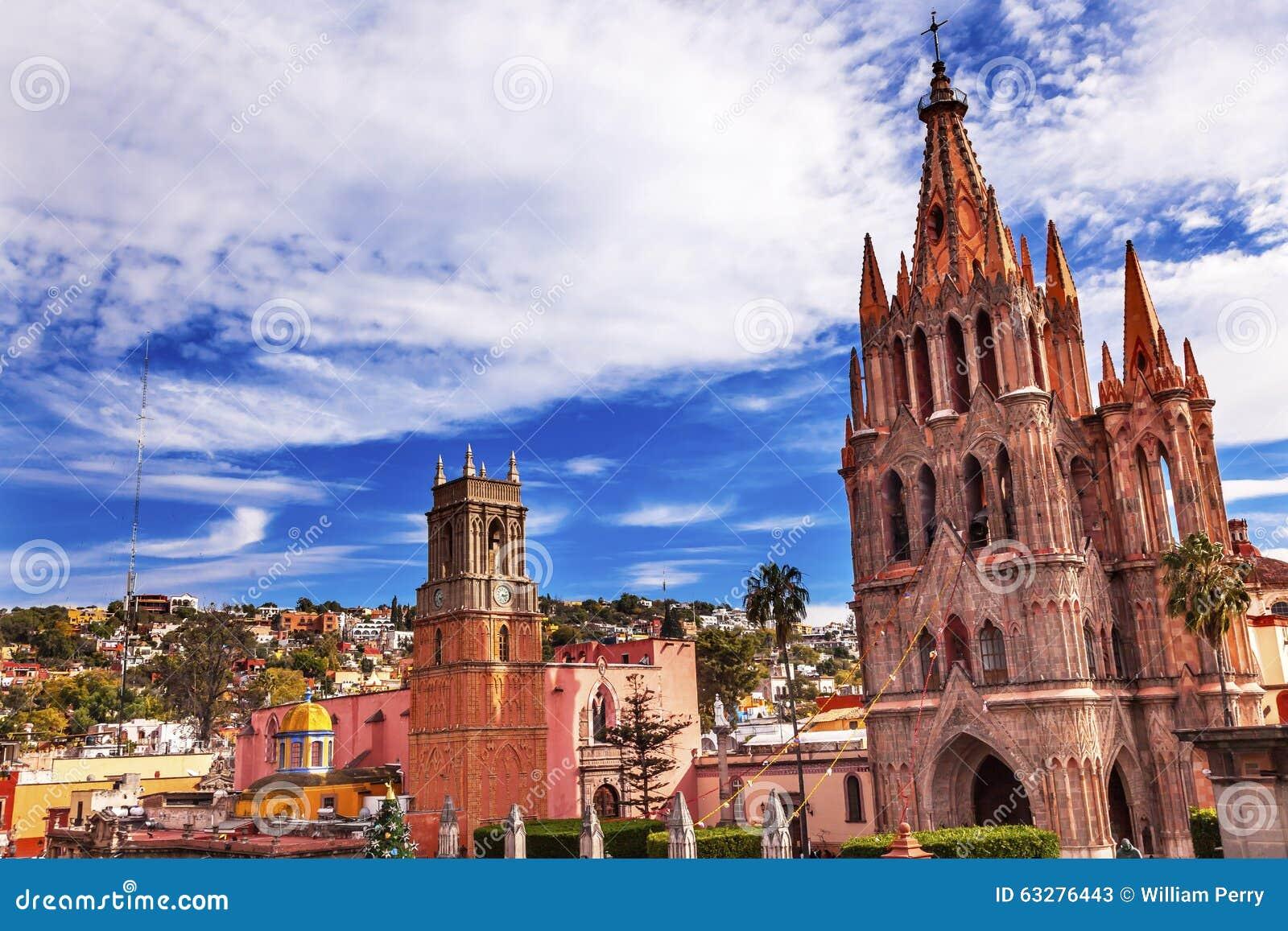 Parroquia Rafael Churches San Miguel de Allende Mexiko