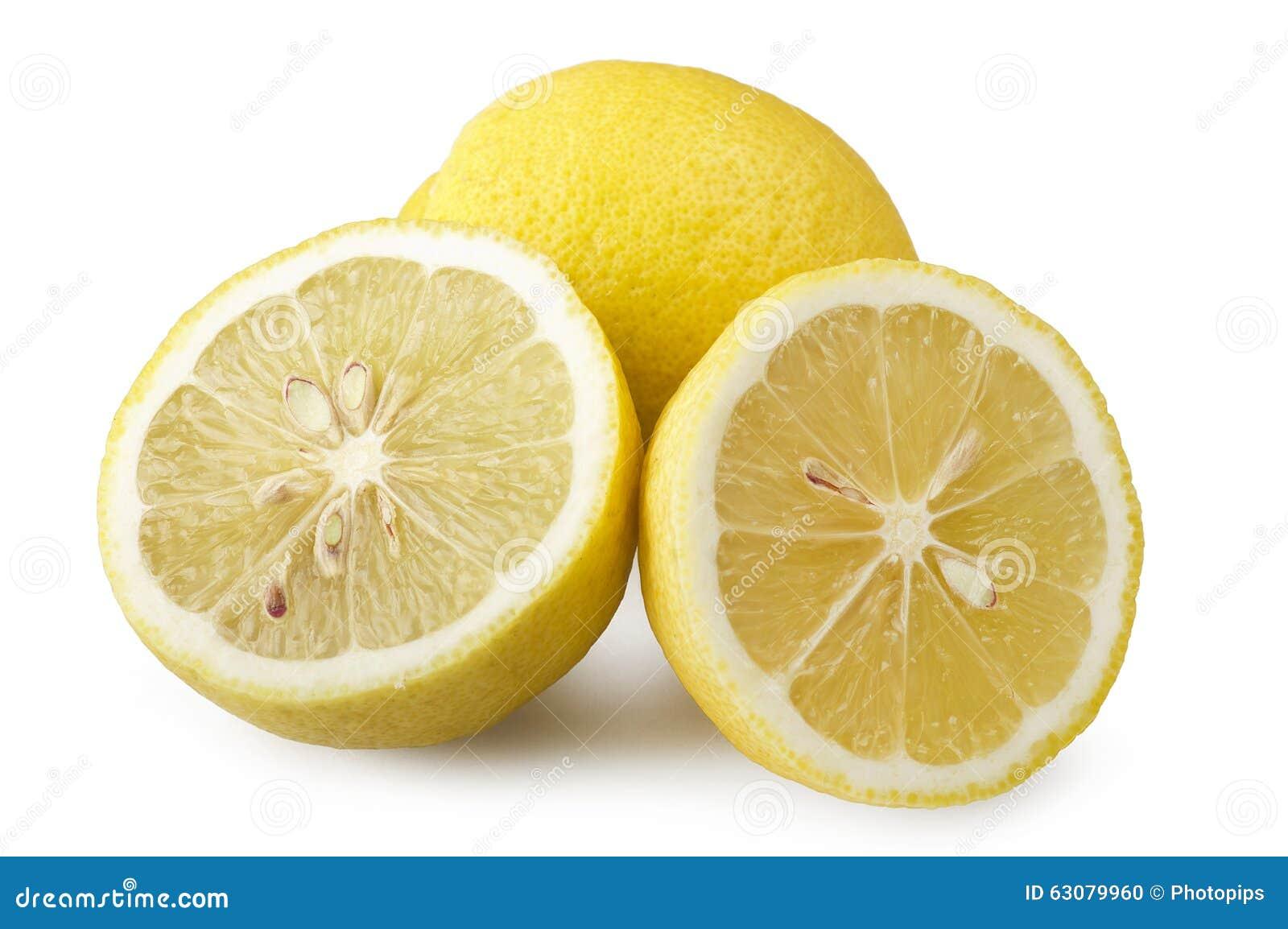Download Part fraîche de citron photo stock. Image du closeup - 63079960