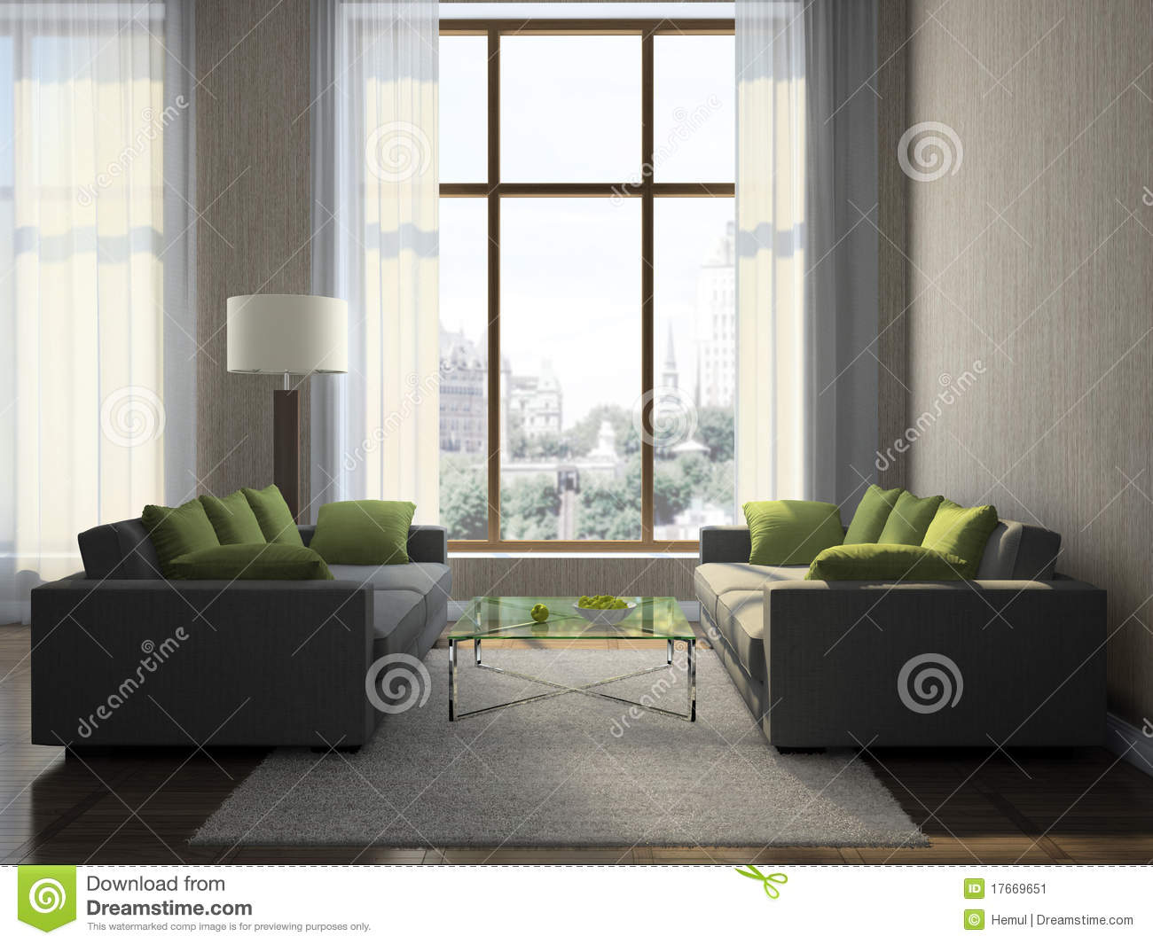 Part of the modern living room stock image image 17669651 for Parts of the living room