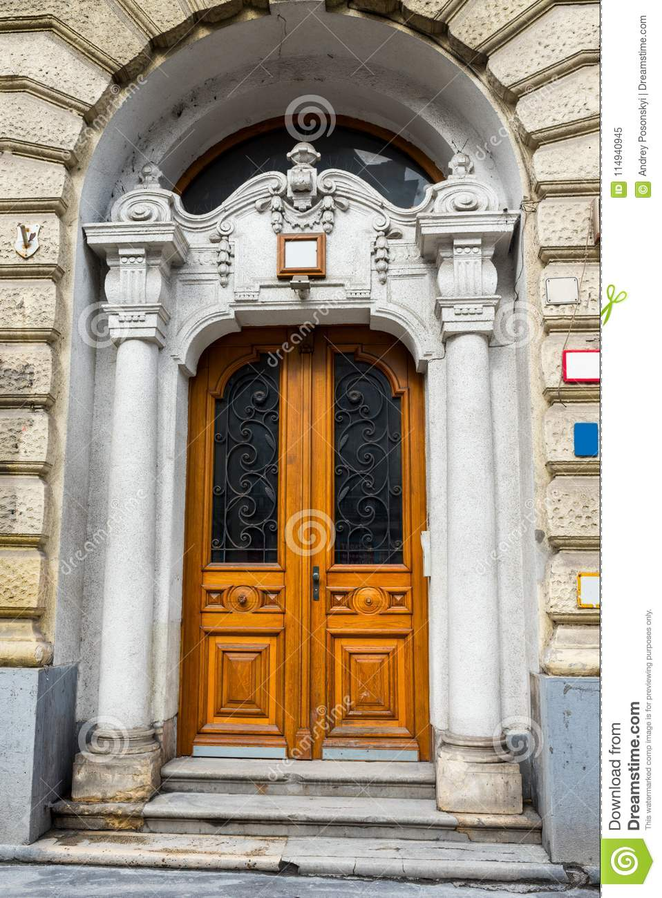 Doors In The Old Architecture, Exit Or Entrance