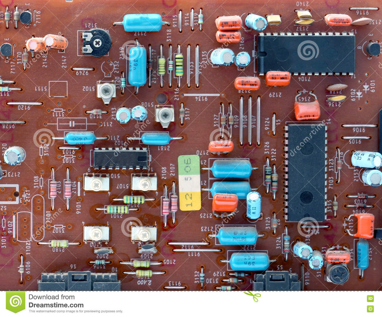 Vintage Circuit Board Everything About Wiring Diagram Recycled Minimagnetic Geek Clipboard Part Of Old Printed Stock Photo Image Rh Dreamstime Com Assembly Art