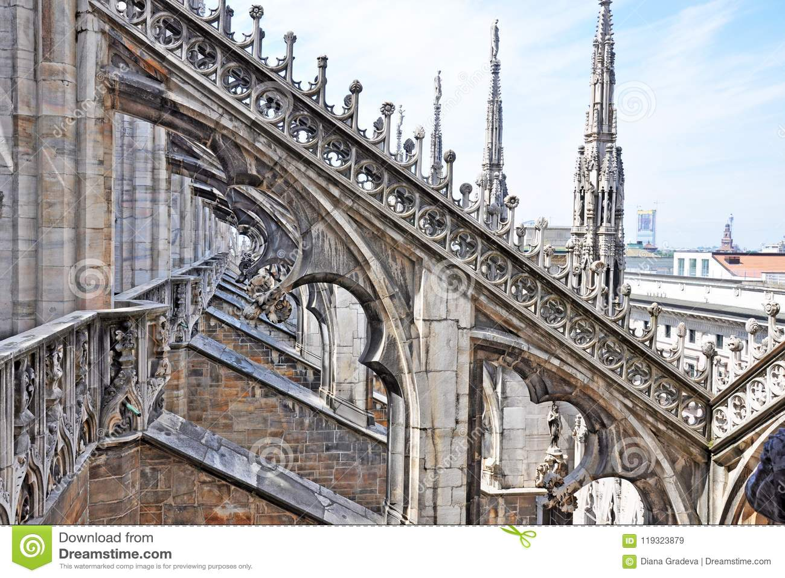 Duomo Di MIlano - The Roof