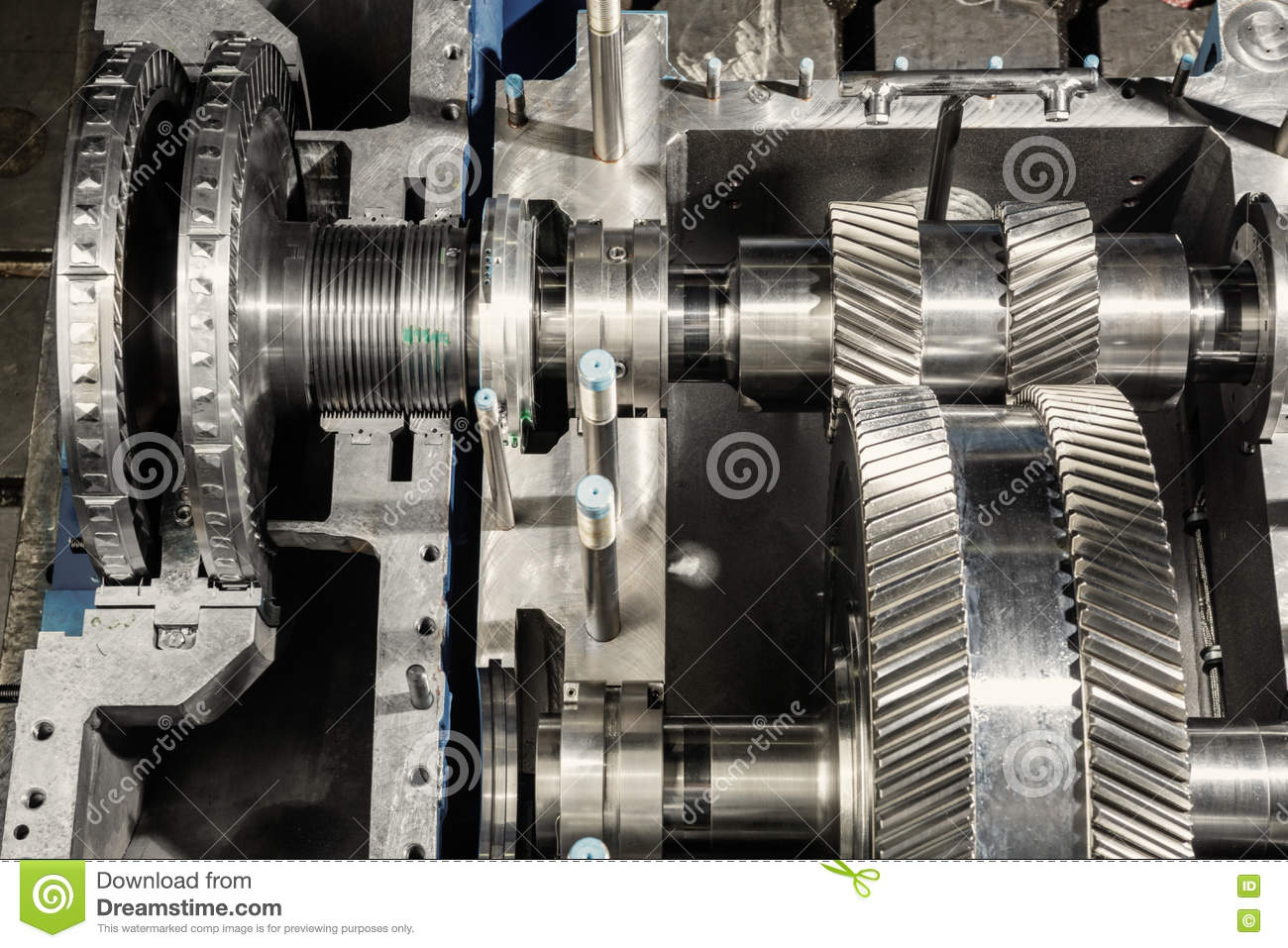 Steam Turbines and Gearing