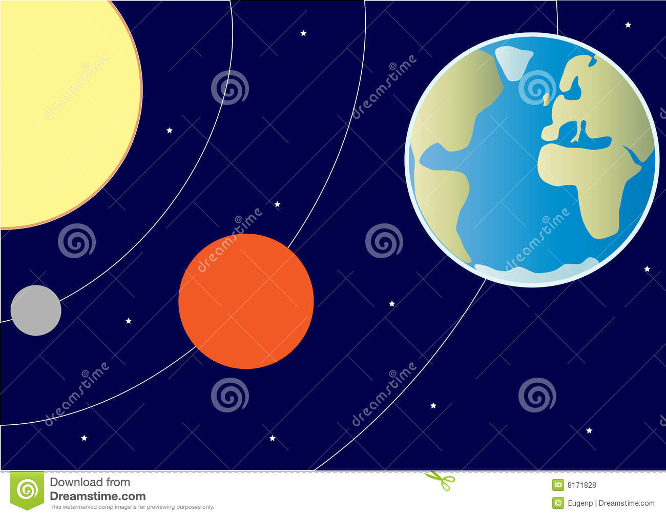 Part Of The Solar System Royalty Free Stock Photos - Image ...