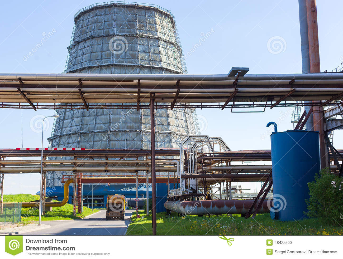 cooling tower in thermal power plant pdf