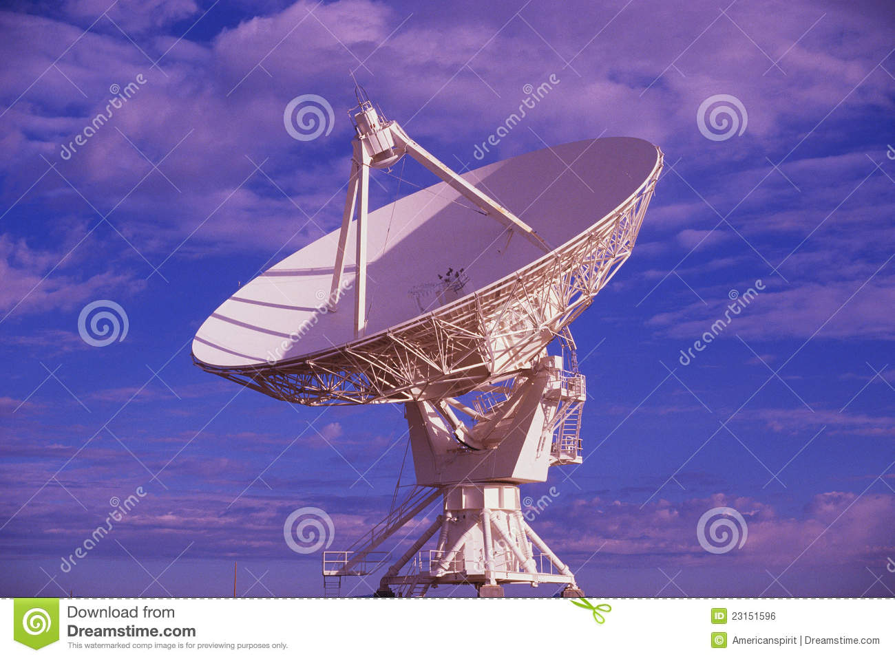 Part of Very Large Array, Socorro, NM