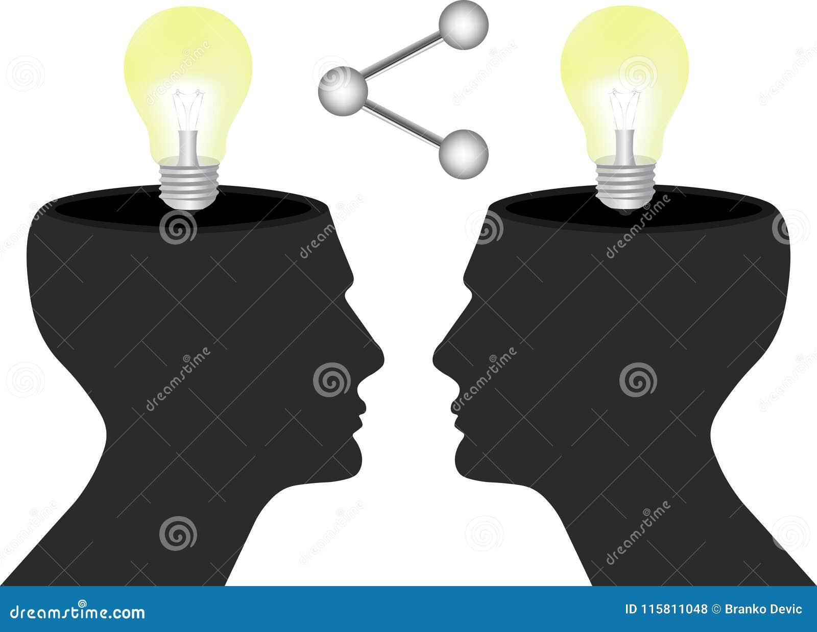 Partagez vos idées et connaissance avec le concept d humains