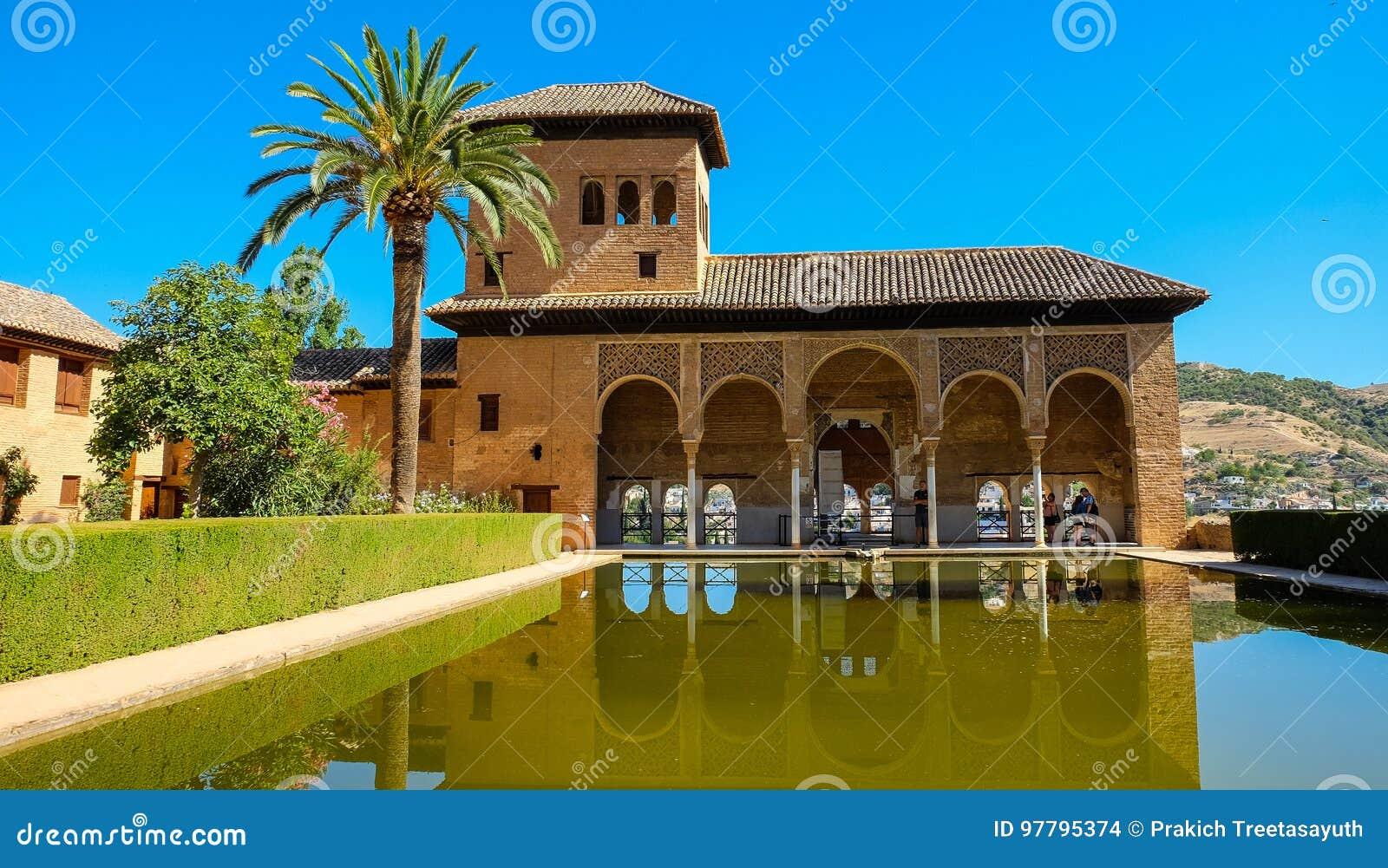 The Partal in Alhambra, Granada