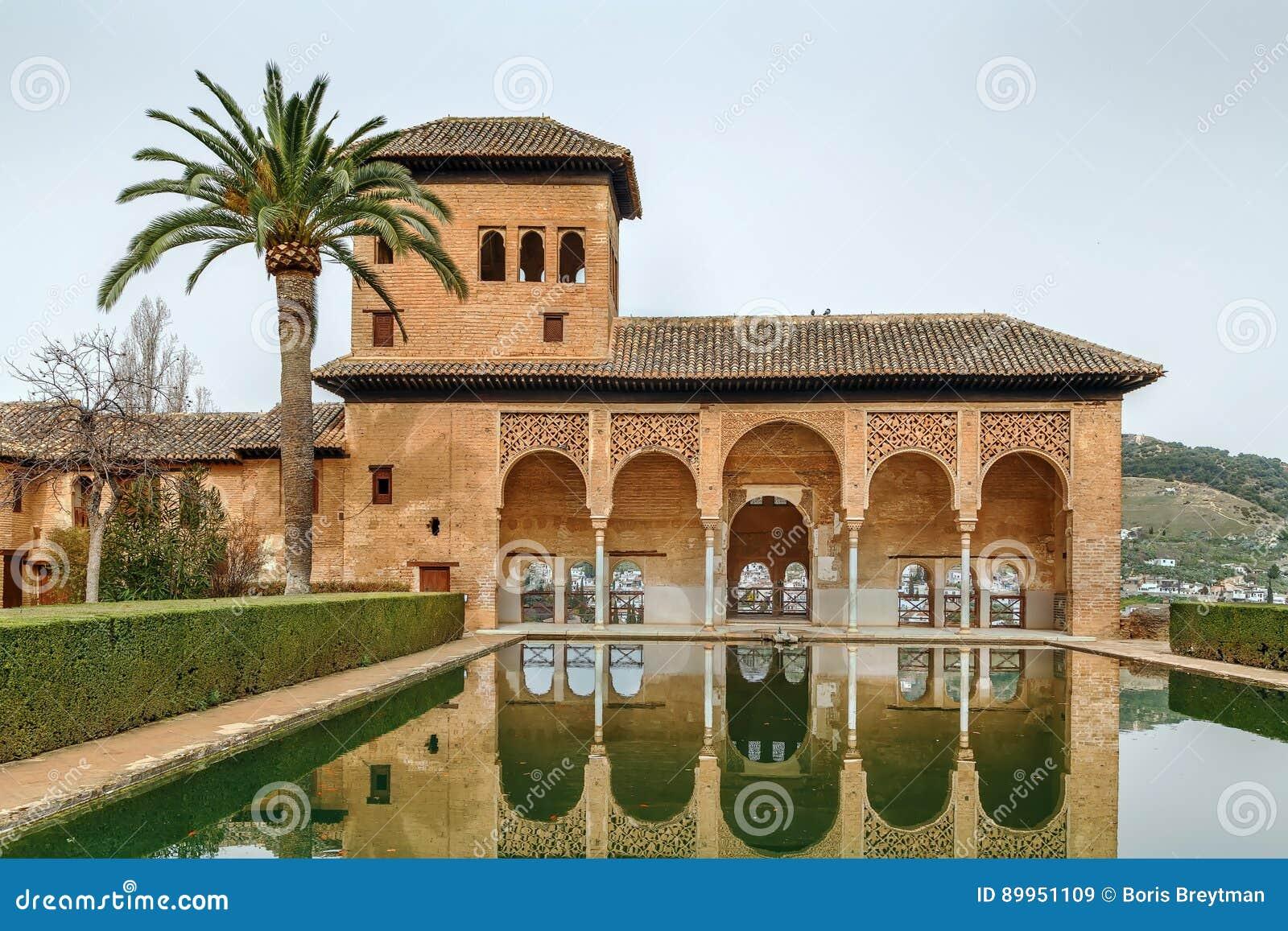 Partal Palace, Alhambra, Granada