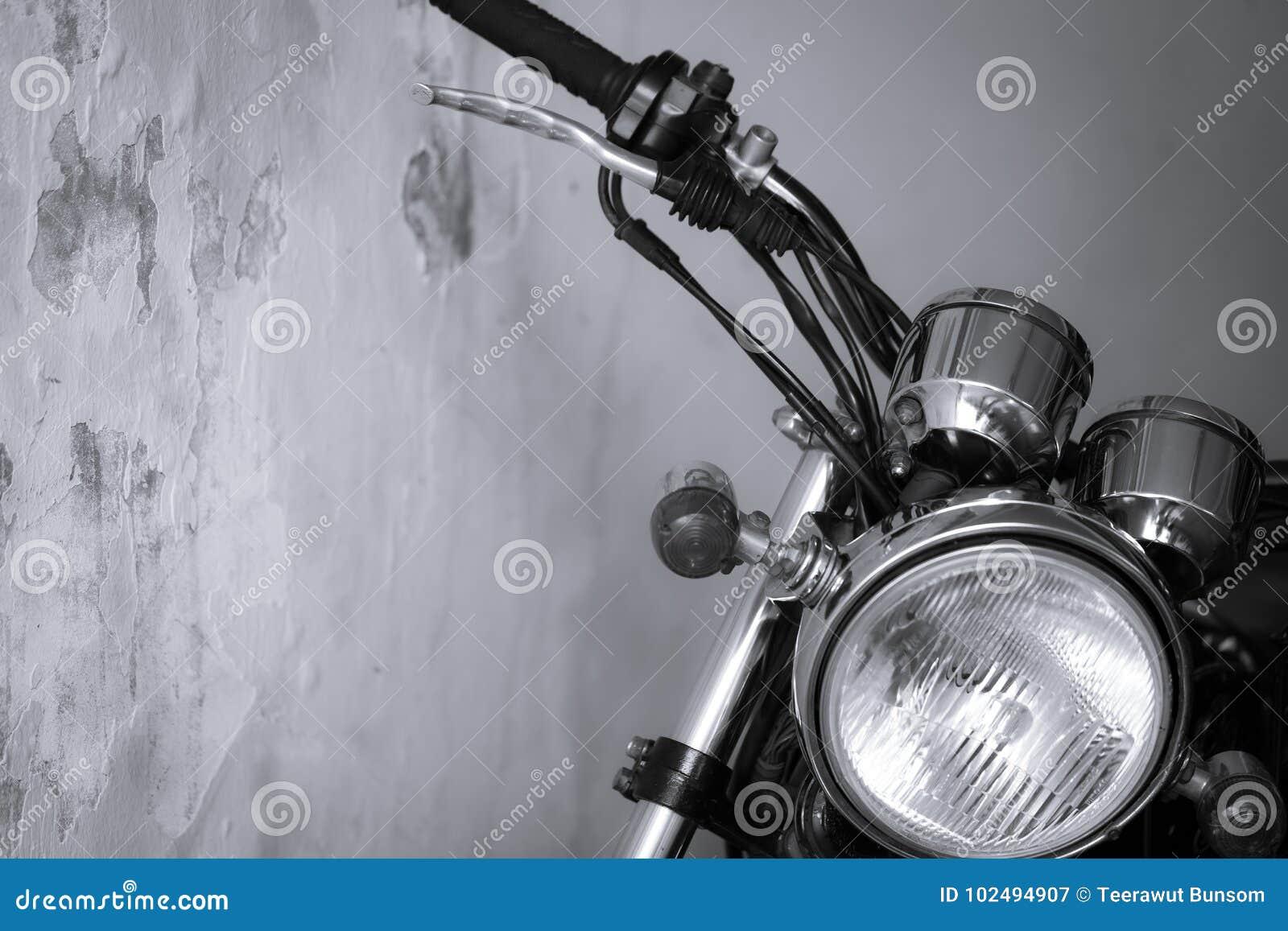 Parte d annata alta chiusa del motociclo