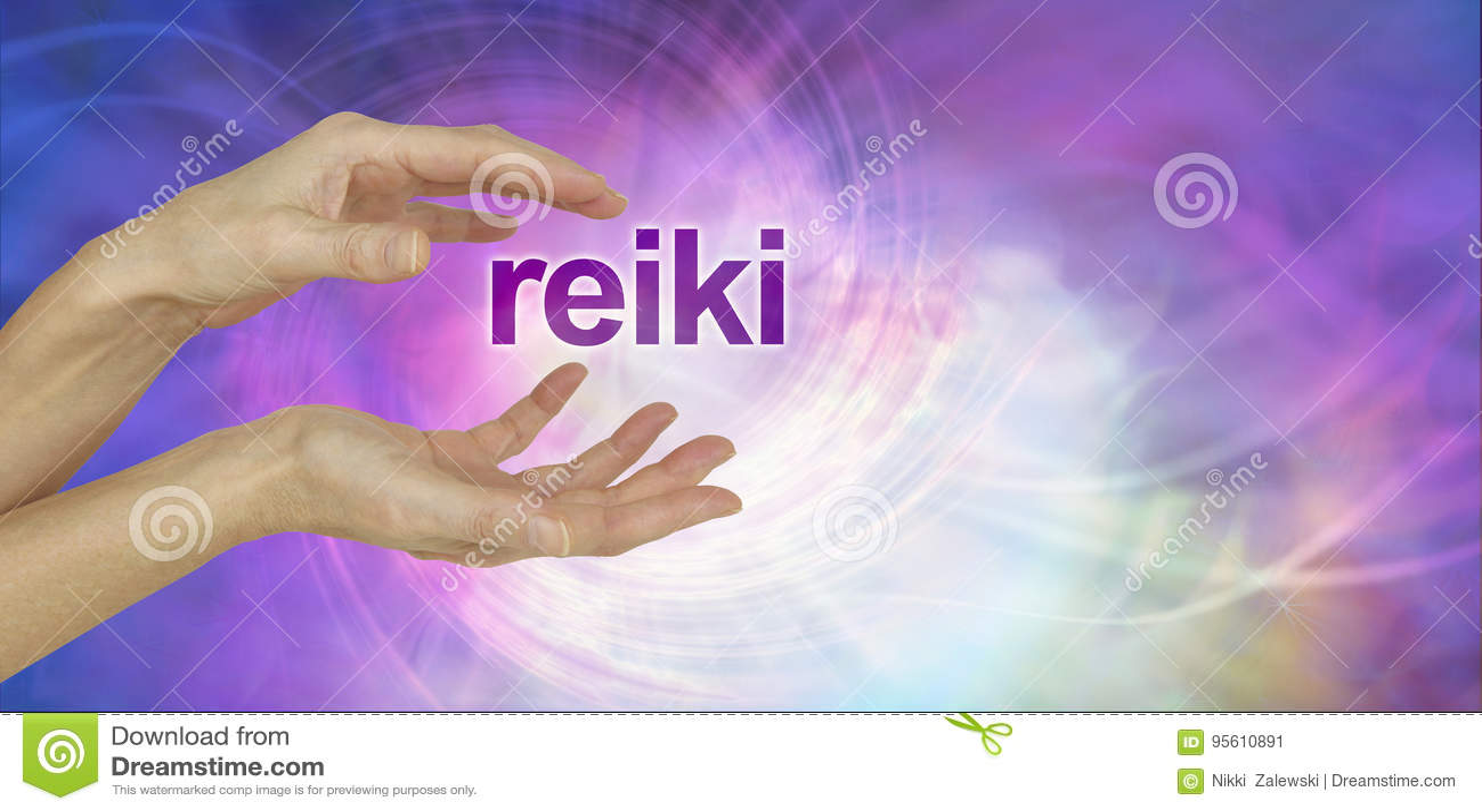A parte de Reiki convida o fundo