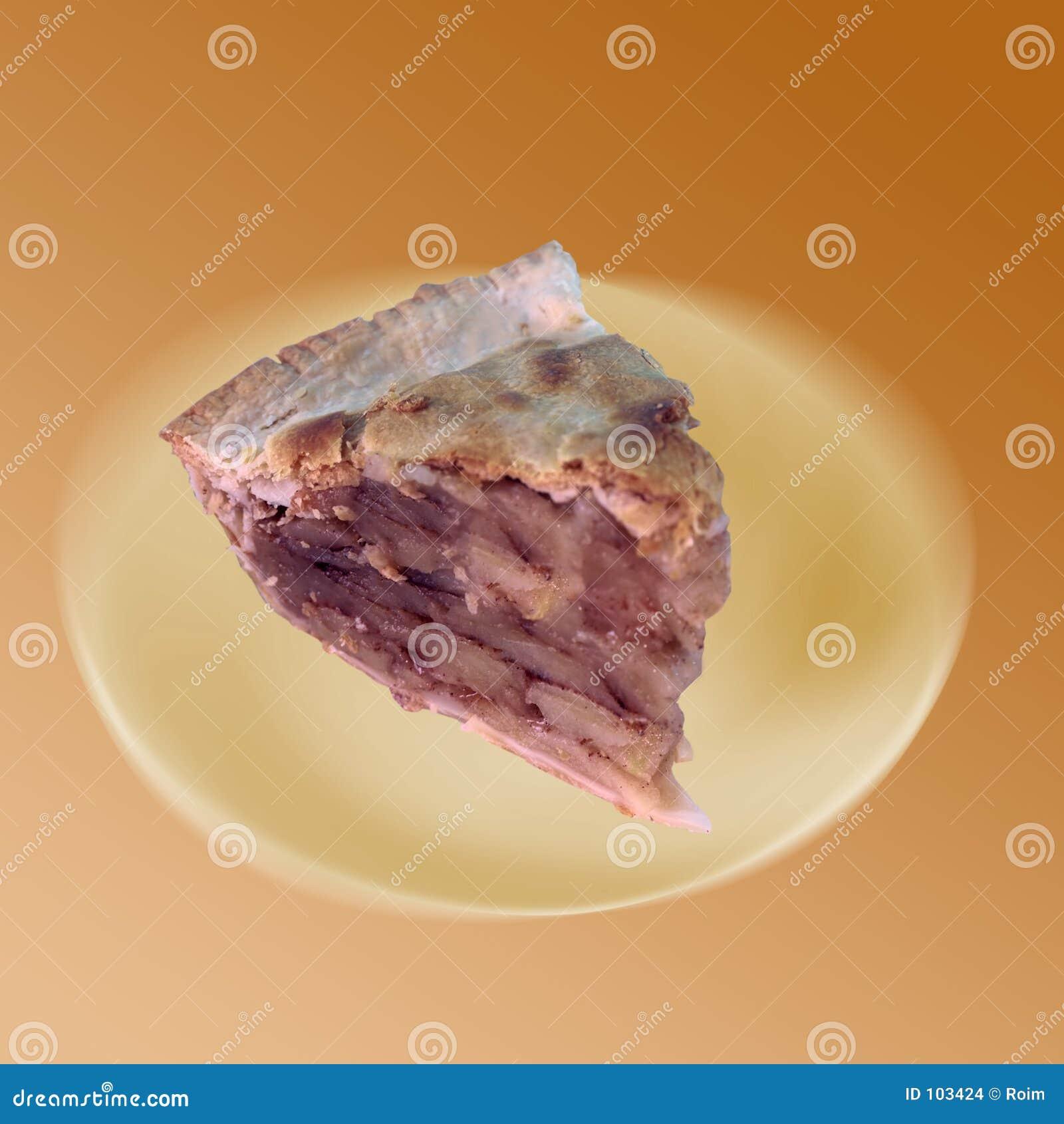 Parte de torta de Apple