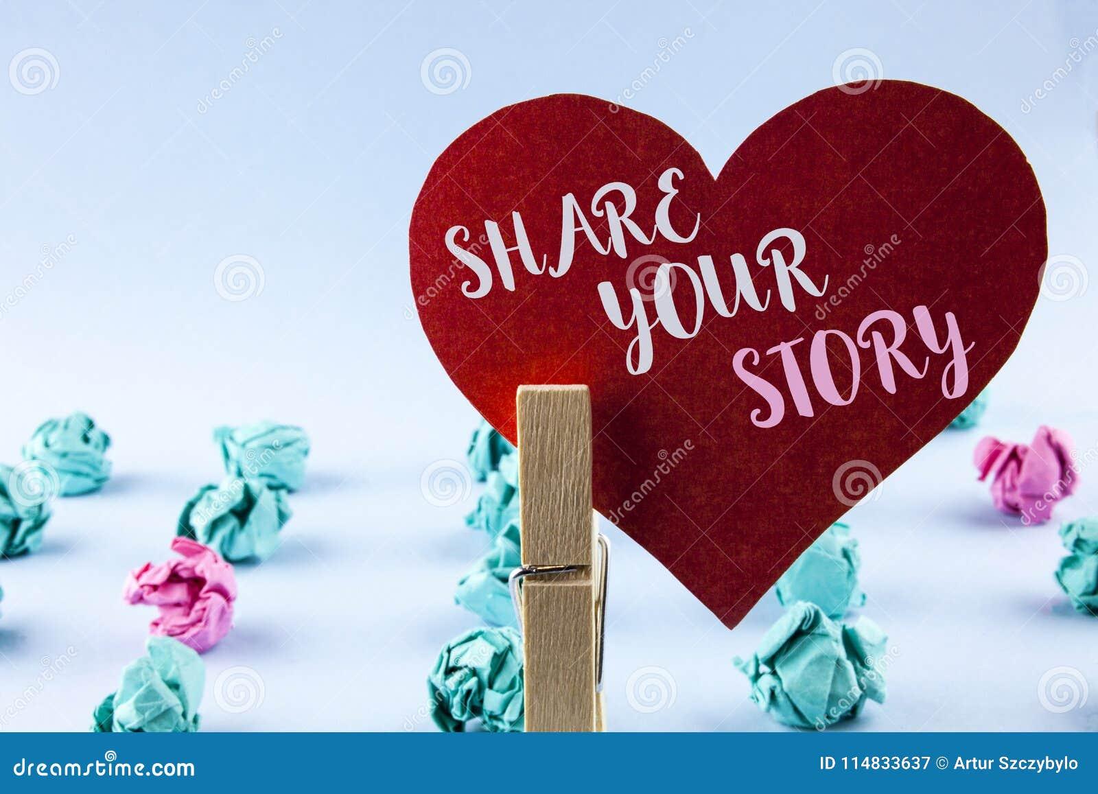 Parte del texto de la escritura su historia El significado del concepto dice las experiencias personales habla usted mismo de la