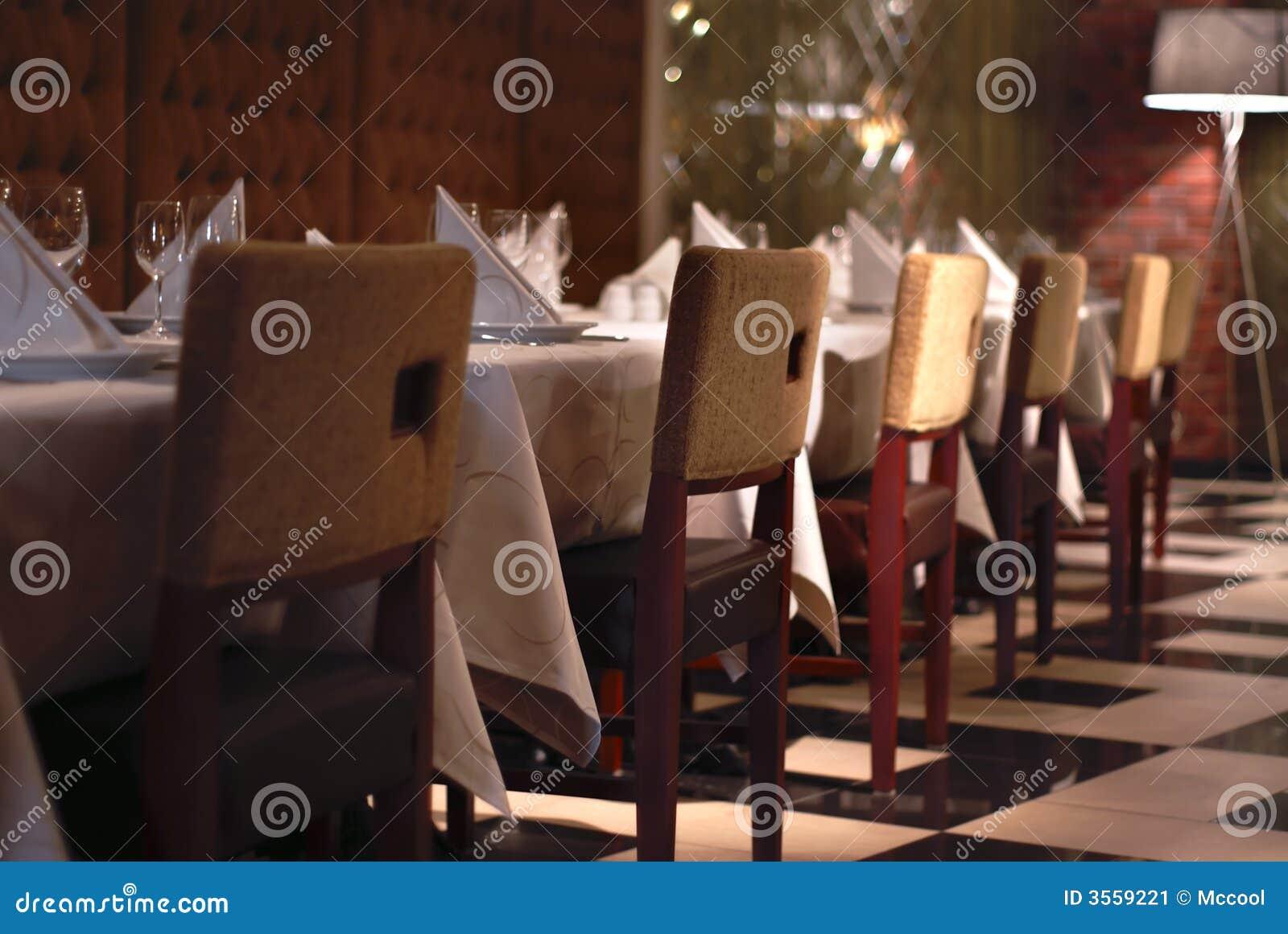 Parte dell interiore del ristorante
