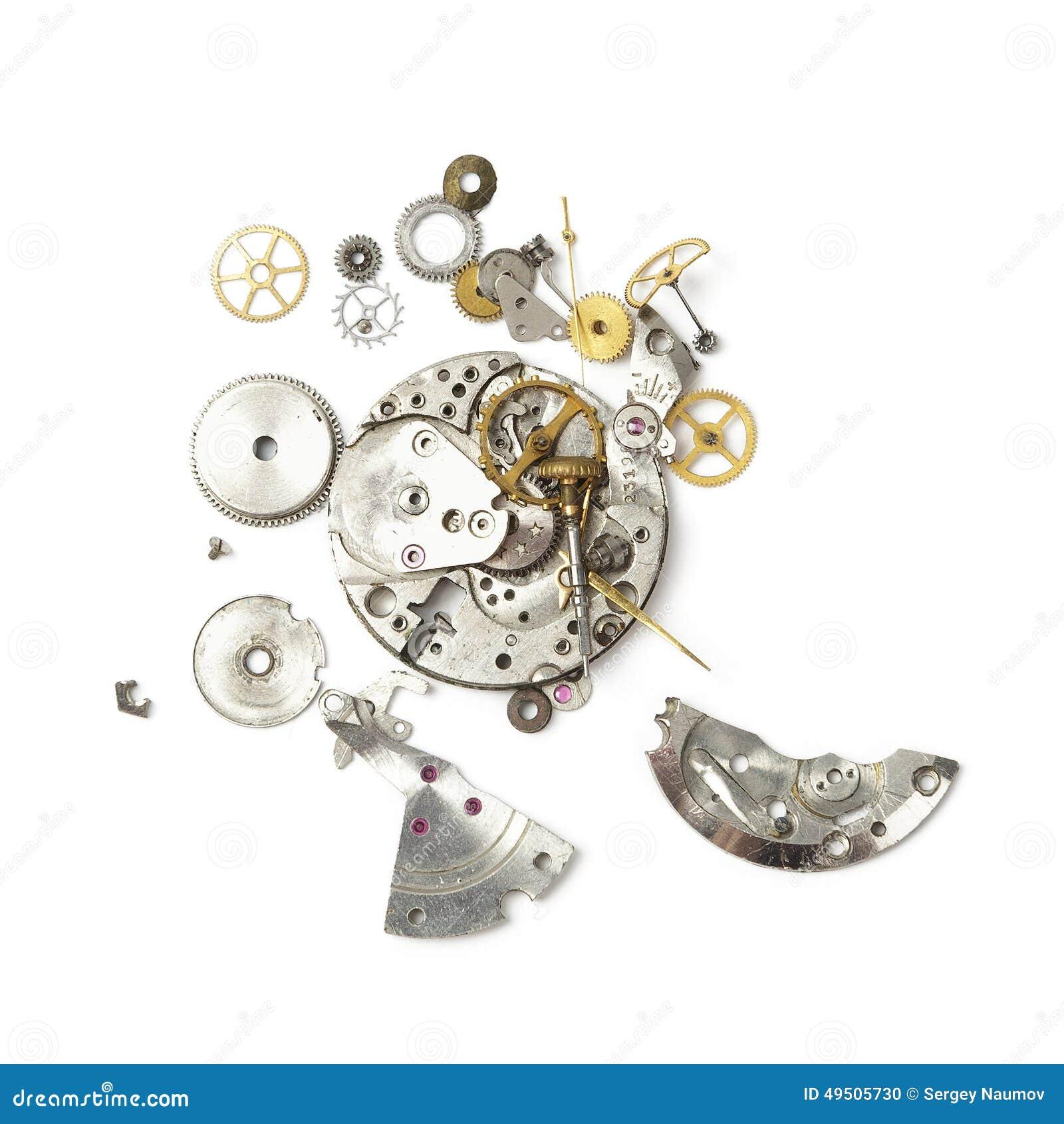 Parte dell orologio rotto